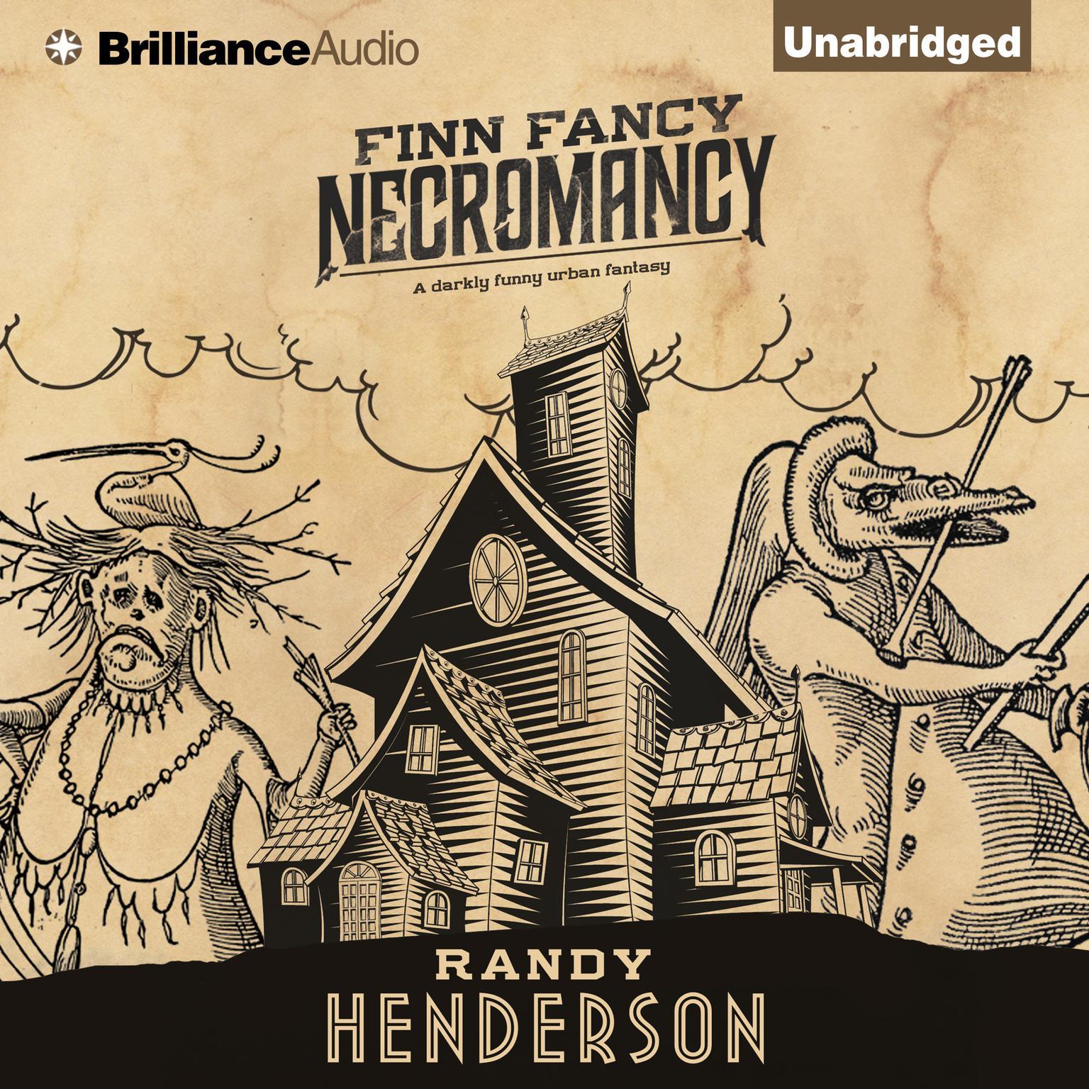 Printable Finn Fancy Necromancy Audiobook Cover Art