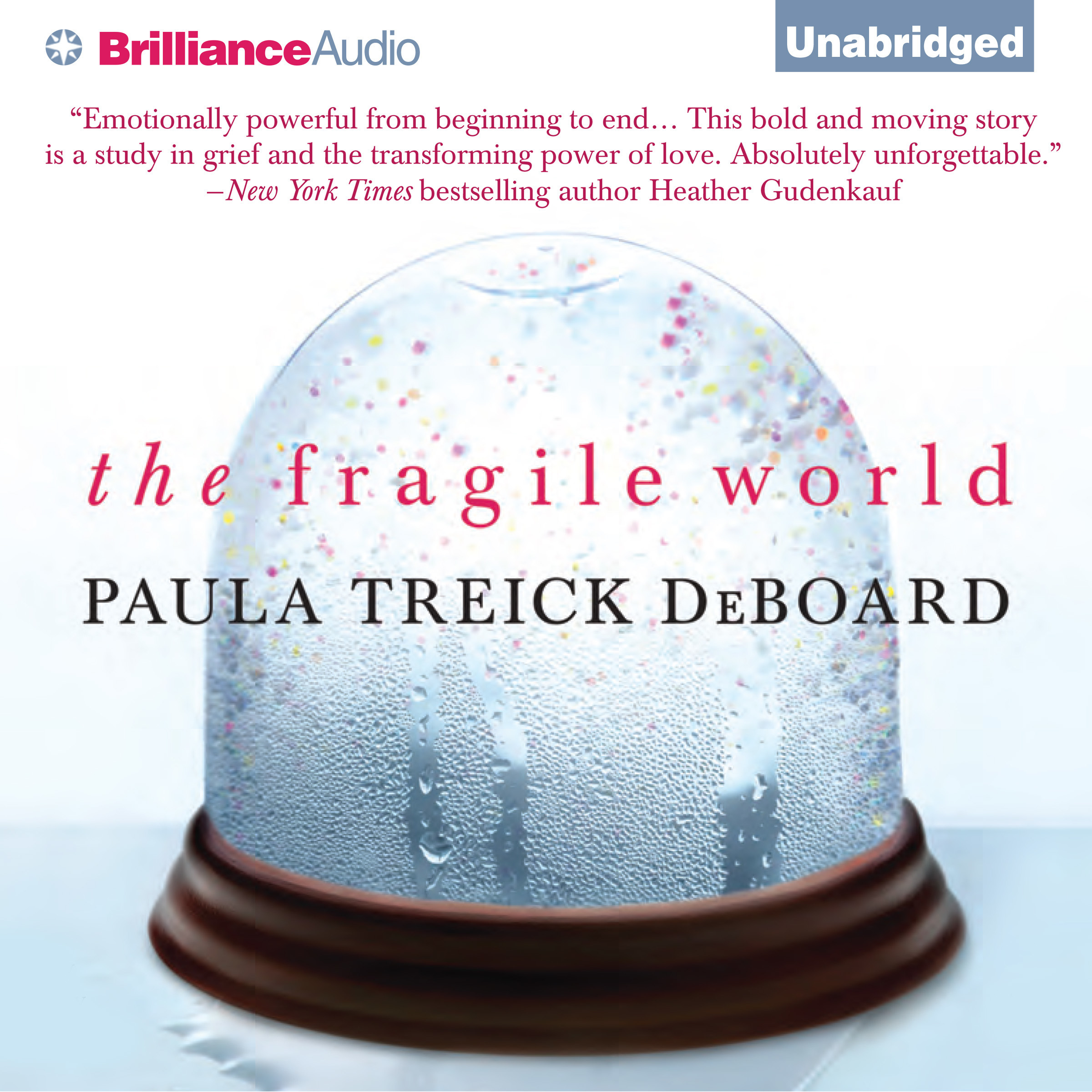 Printable The Fragile World: A Novel Audiobook Cover Art