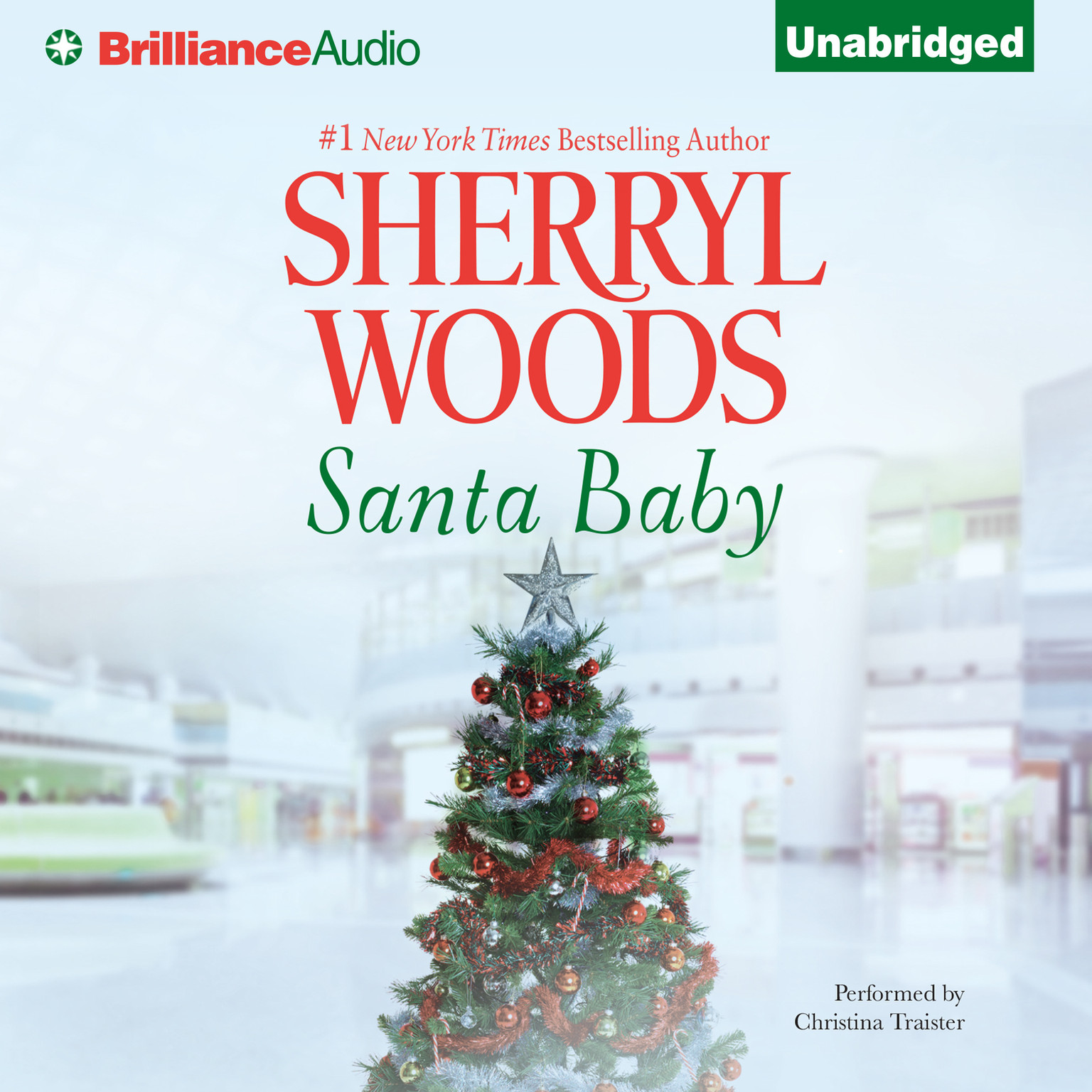 Printable Santa Baby Audiobook Cover Art