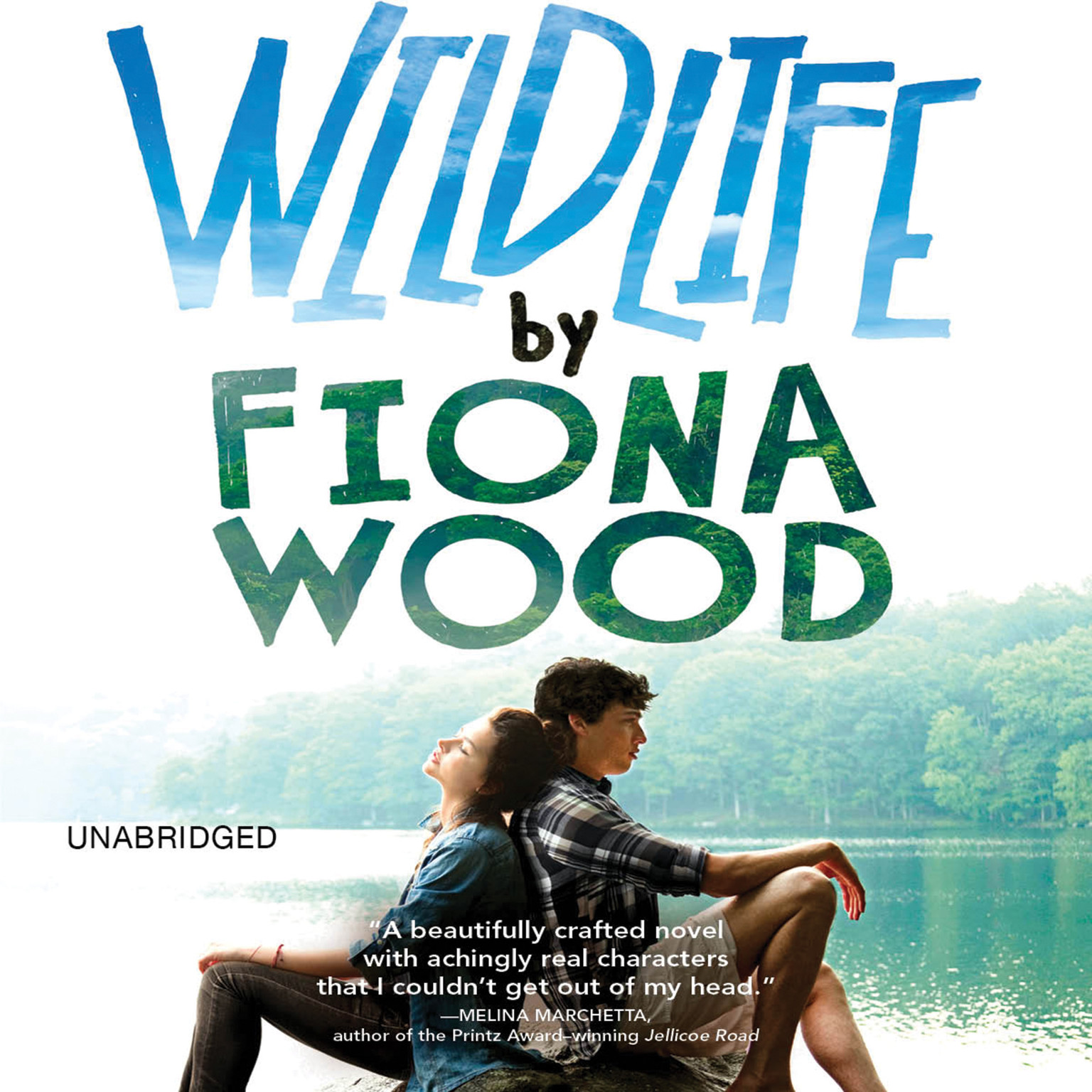 Printable Wildlife Audiobook Cover Art