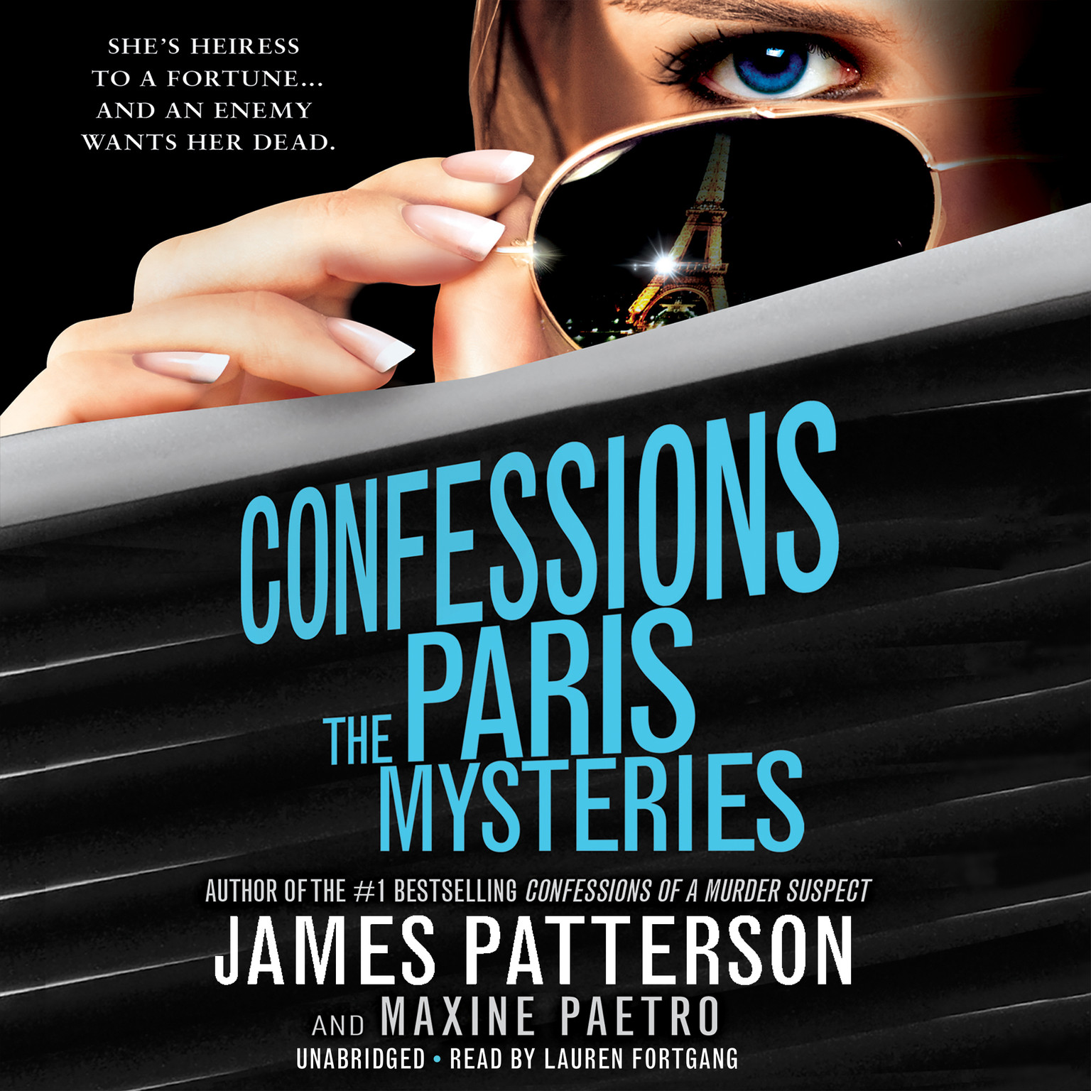 Printable Confessions: The Paris Mysteries Audiobook Cover Art