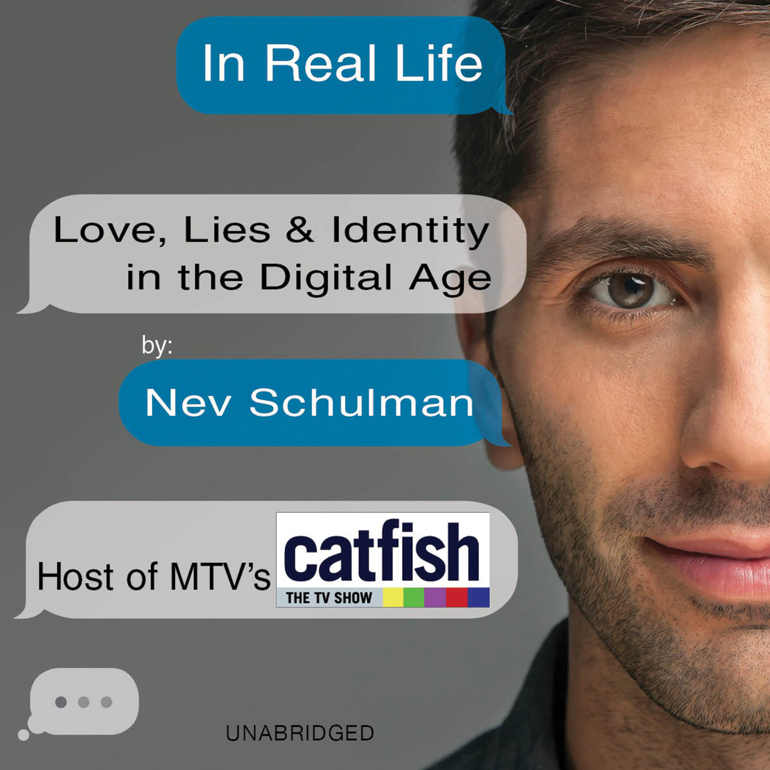 Printable In Real Life: Love, Lies & Identity in the Digital Age Audiobook Cover Art