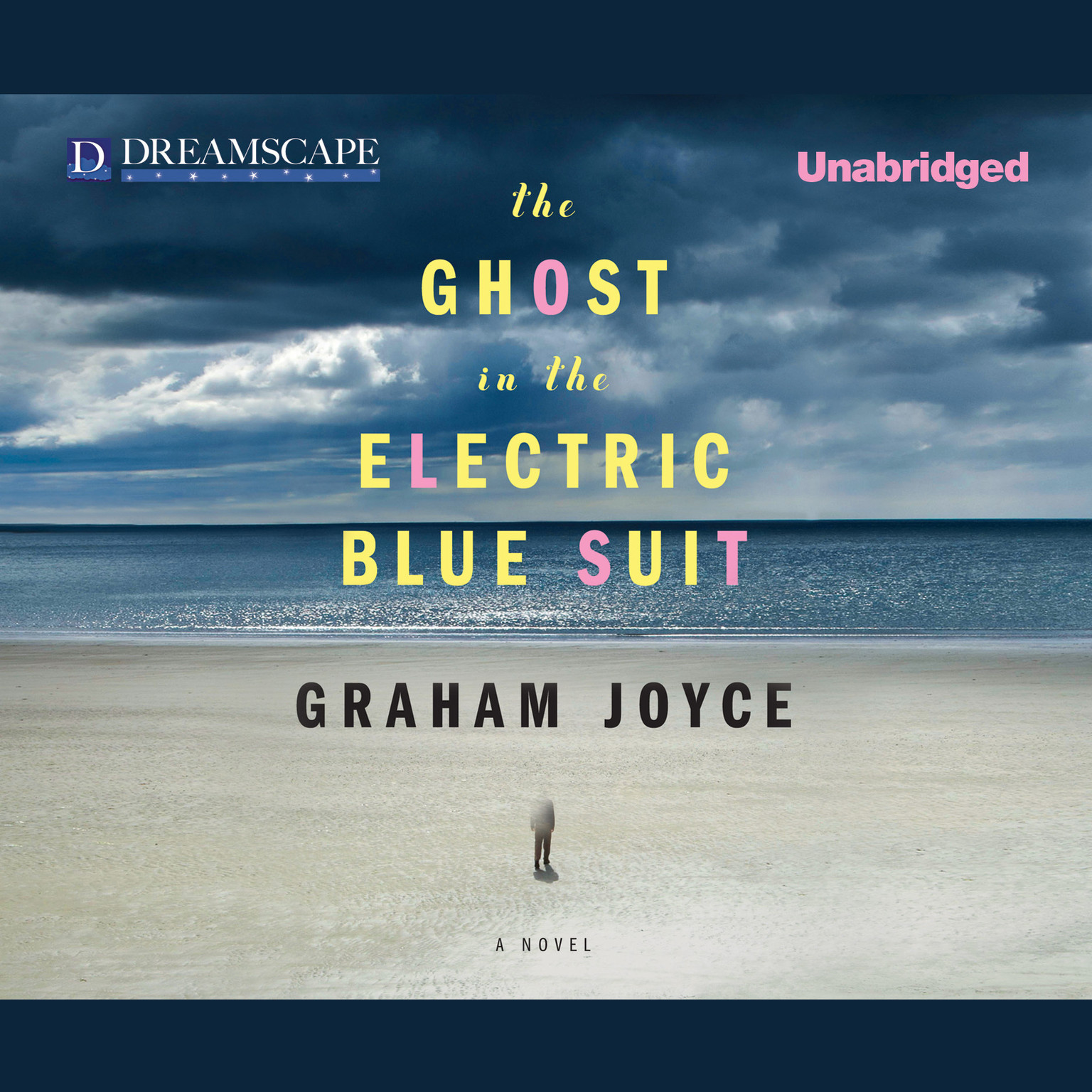 Printable The Ghost in the Electric Blue Suit Audiobook Cover Art