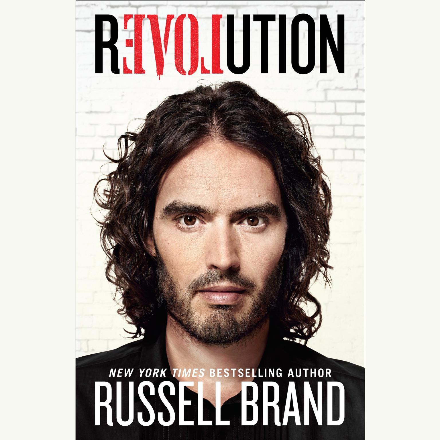 Printable Revolution Audiobook Cover Art