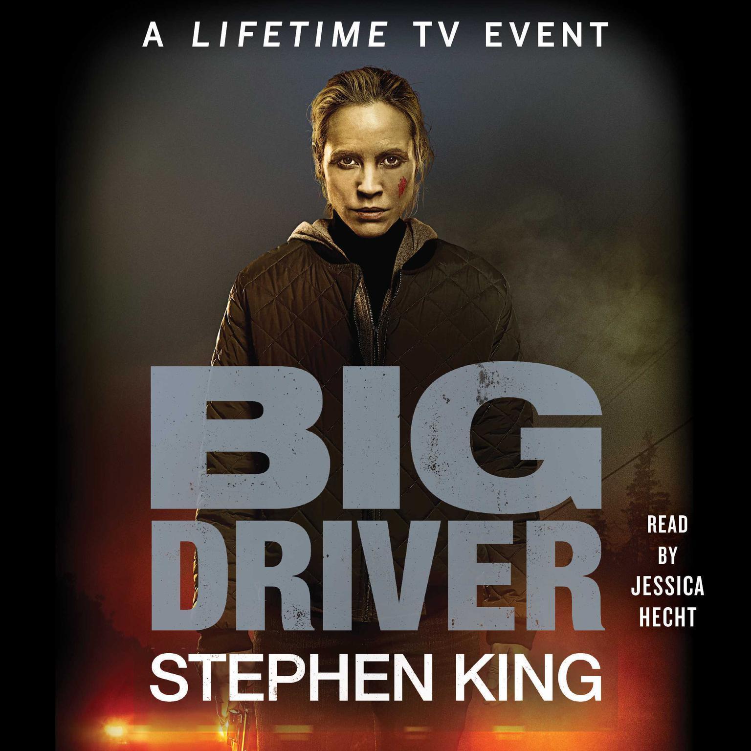 Printable Big Driver Audiobook Cover Art