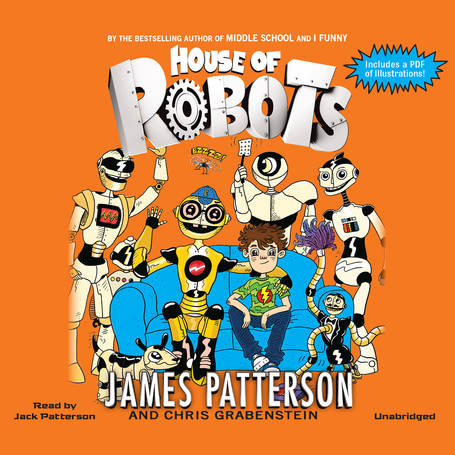 Printable House of Robots Audiobook Cover Art