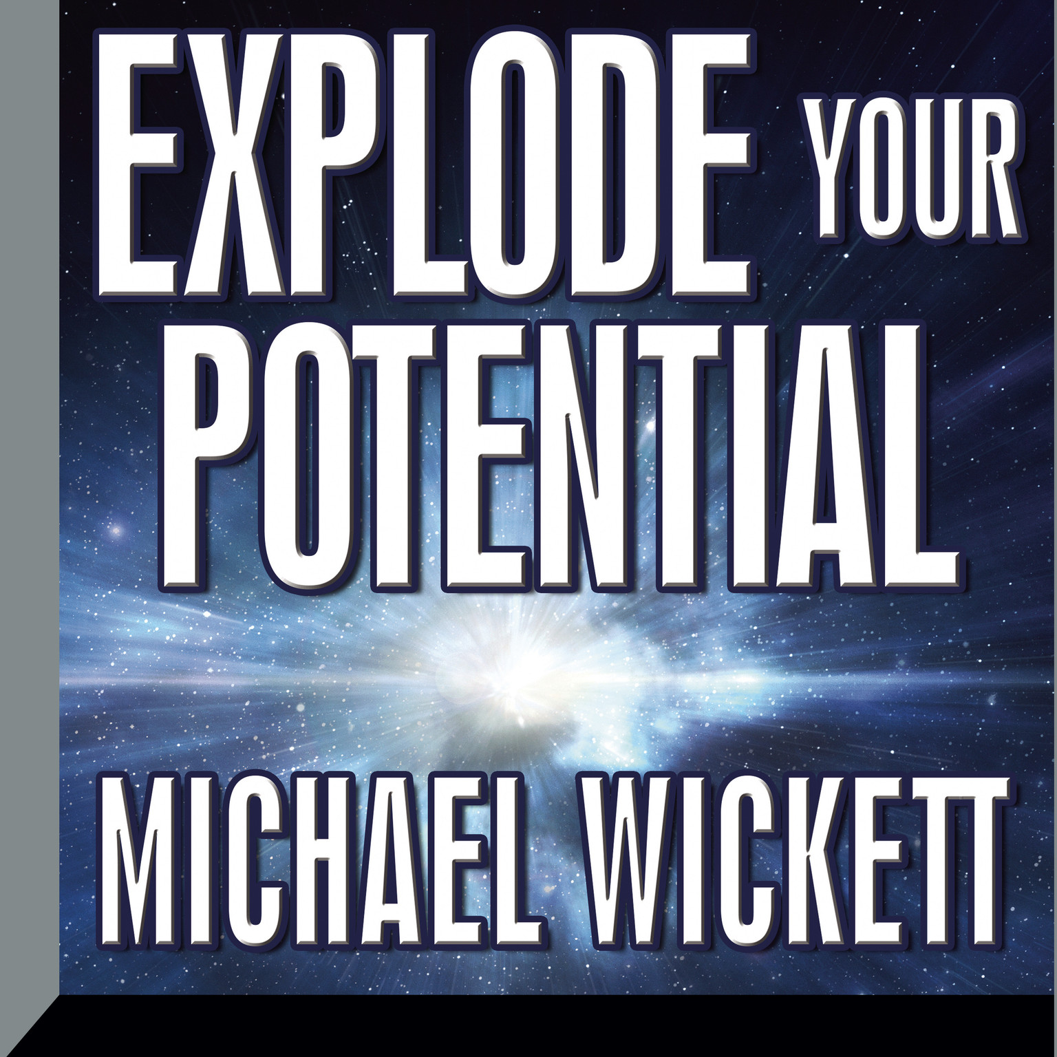 Printable Explode Your Potential Audiobook Cover Art
