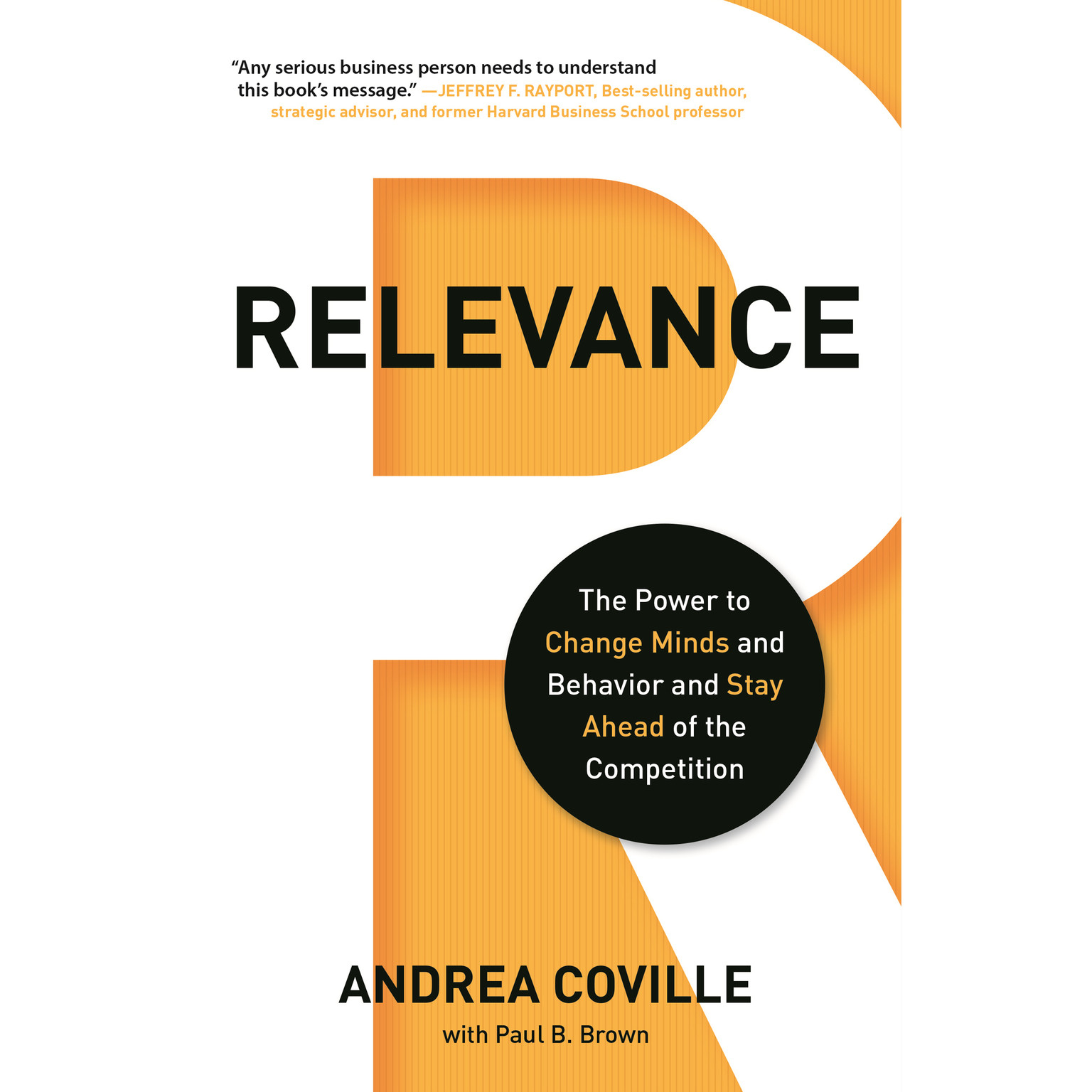 Printable Relevance: The Power to Change Minds and Behavior and Stay Ahead of the Competition Audiobook Cover Art