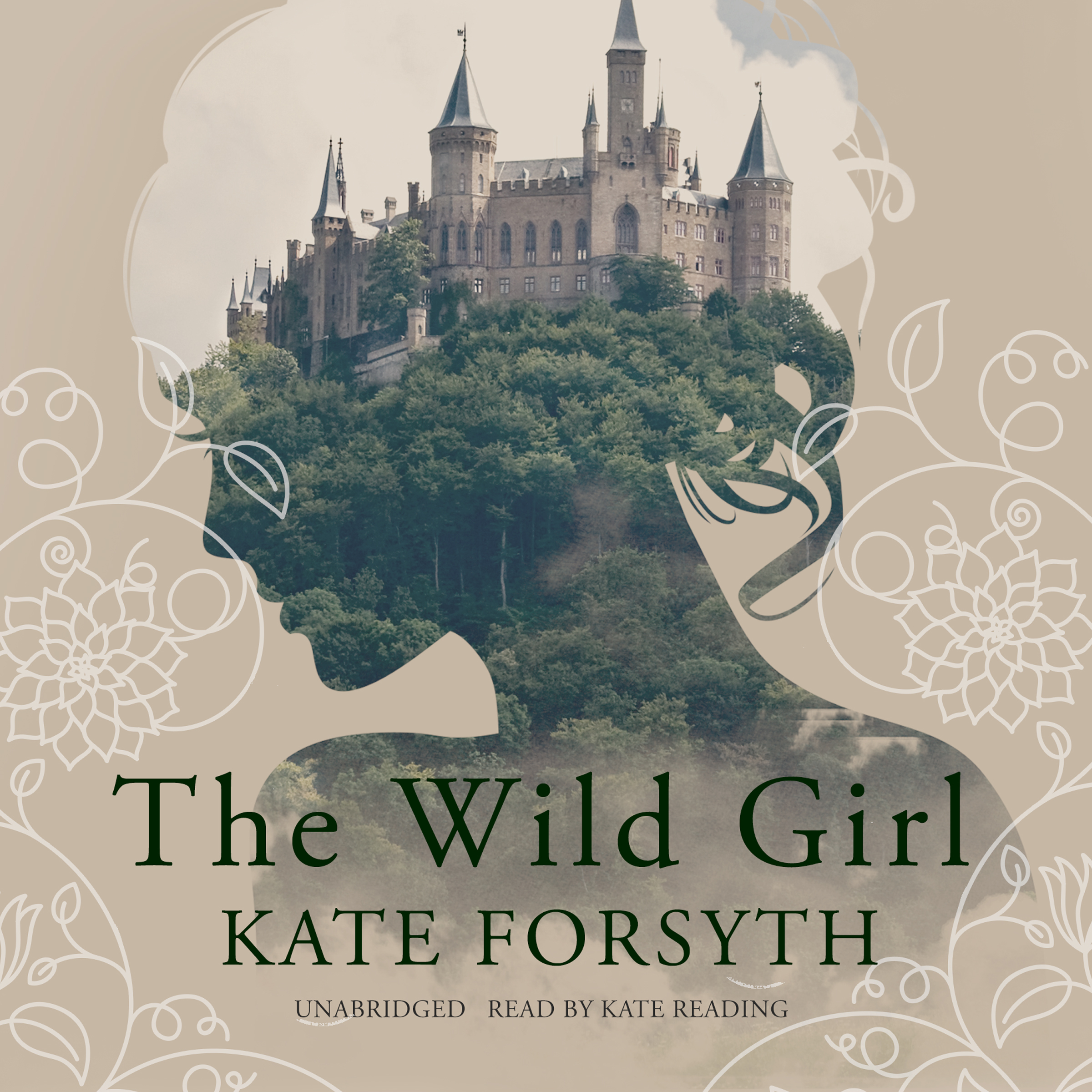 Printable The Wild Girl Audiobook Cover Art