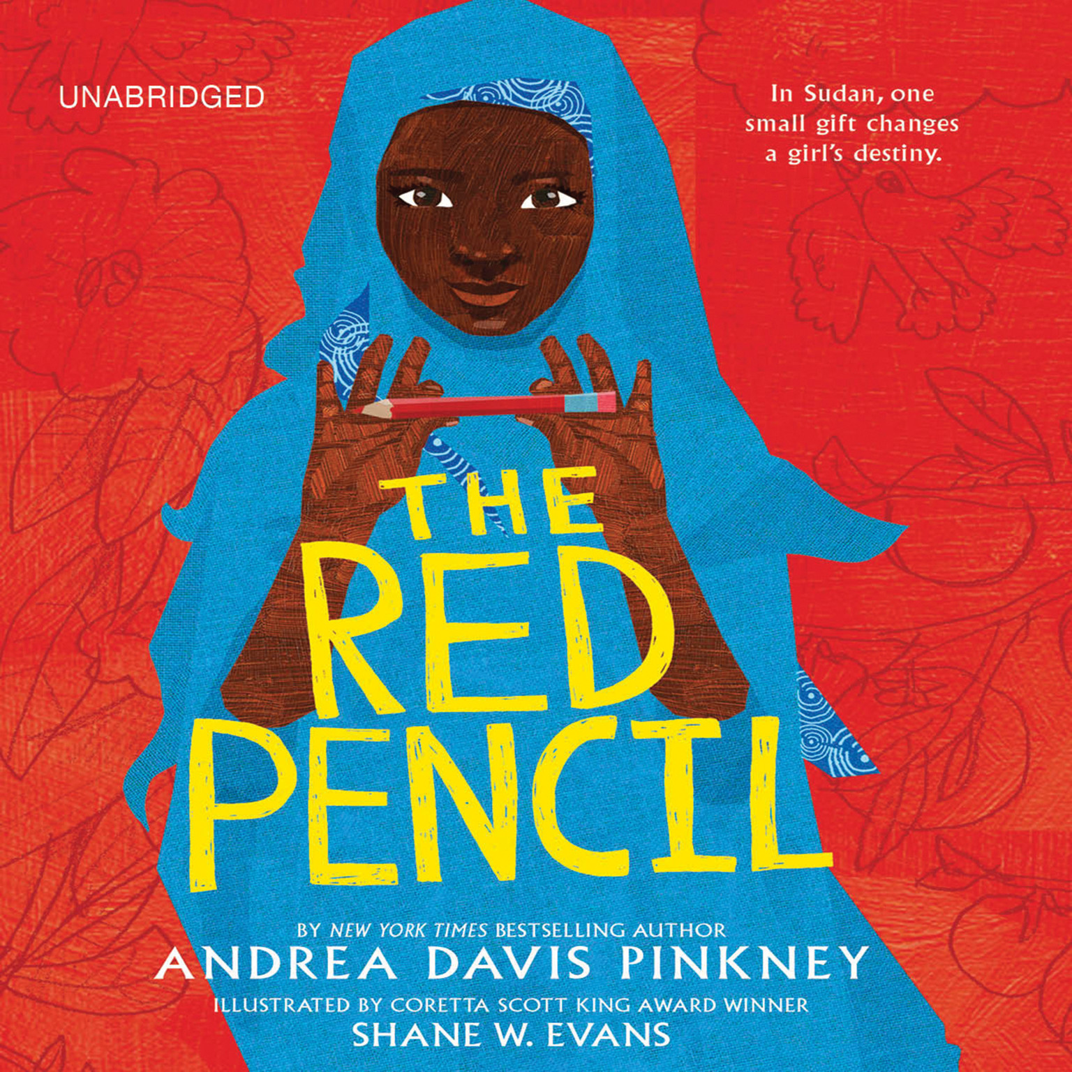Printable The Red Pencil Audiobook Cover Art