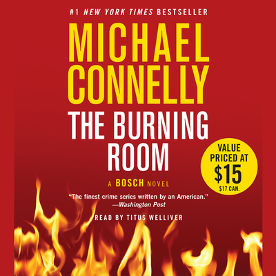 The Burning Room Audiobook, by Michael Connelly
