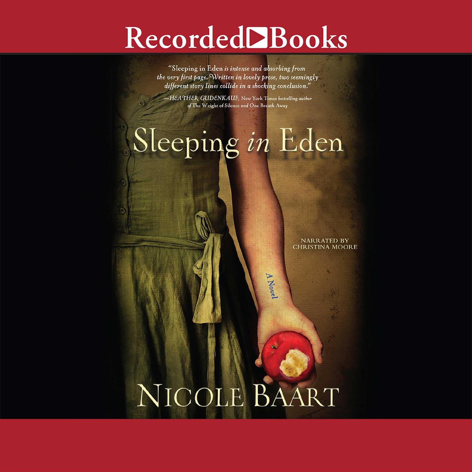 Printable Sleeping in Eden: A Novel Audiobook Cover Art