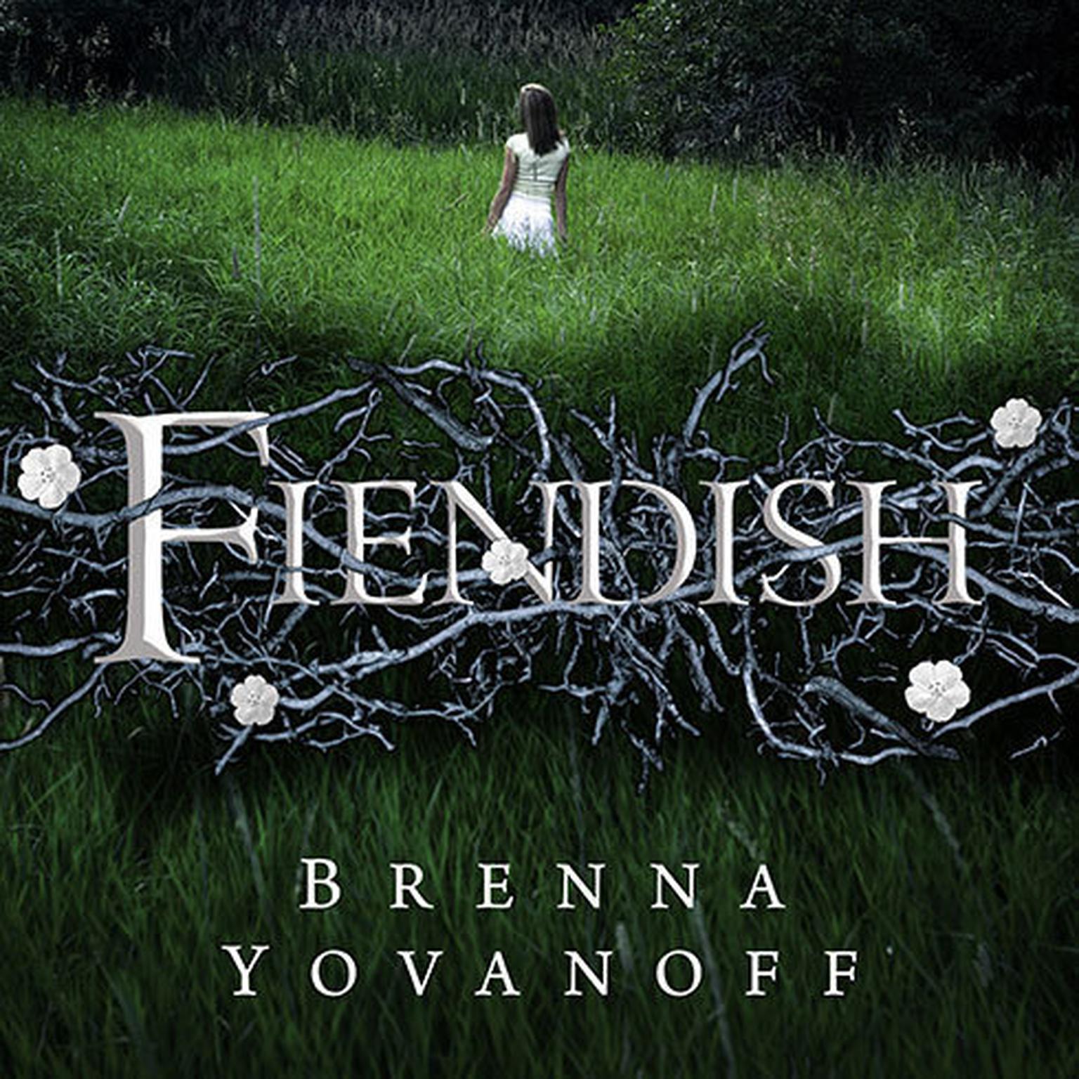 Printable Fiendish Audiobook Cover Art