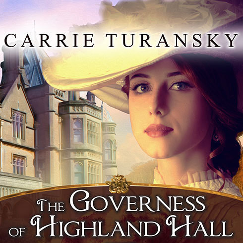 Printable The Governess of Highland Hall Audiobook Cover Art