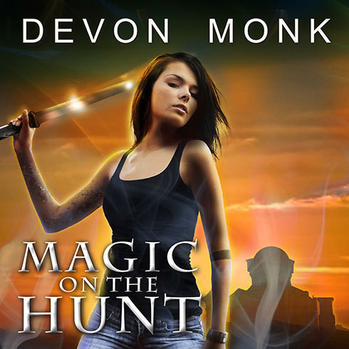 Printable Magic on the Hunt Audiobook Cover Art
