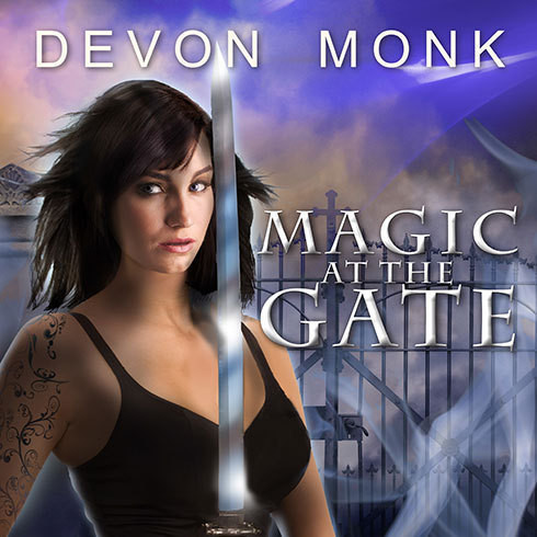 Printable Magic at the Gate Audiobook Cover Art