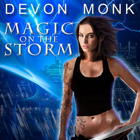 Printable Magic on the Storm Audiobook Cover Art