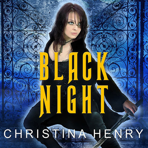 Printable Black Night Audiobook Cover Art