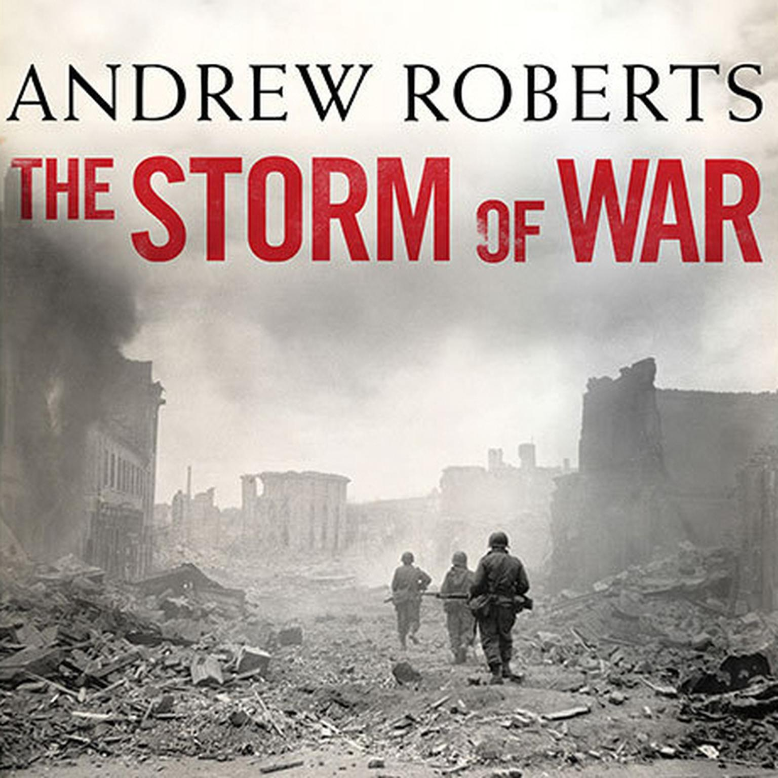 Printable The Storm of War: A New History of the Second World War Audiobook Cover Art