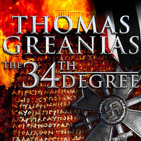 Printable The 34th Degree: A Thriller Audiobook Cover Art