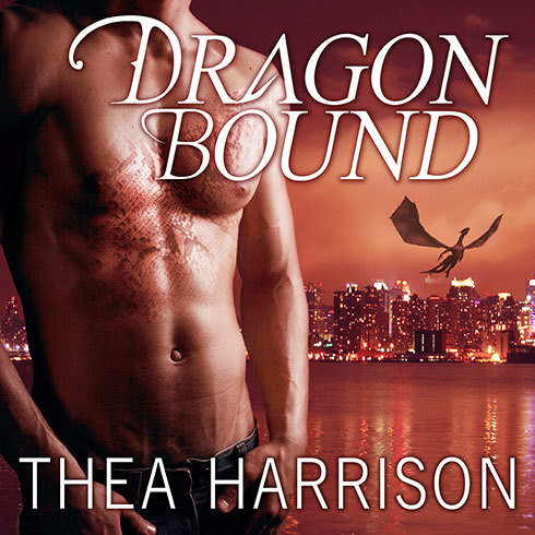 Printable Dragon Bound Audiobook Cover Art