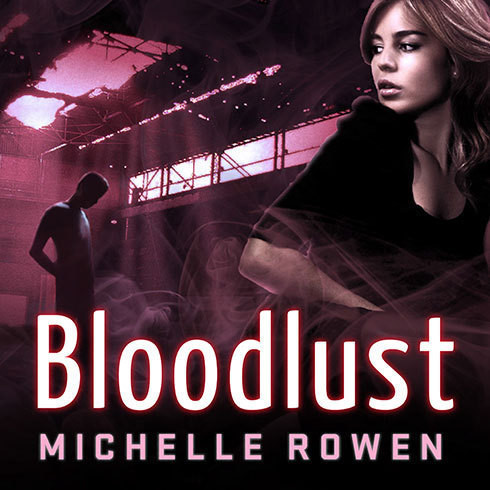 Printable Bloodlust Audiobook Cover Art