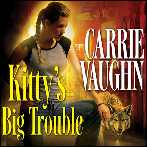 Printable Kitty's Big Trouble Audiobook Cover Art