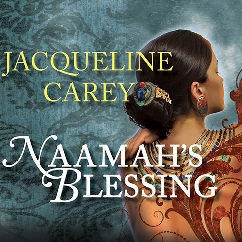 Printable Naamah's Blessing Audiobook Cover Art