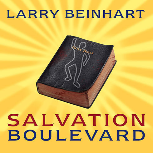 Printable Salvation Boulevard: A Novel Audiobook Cover Art