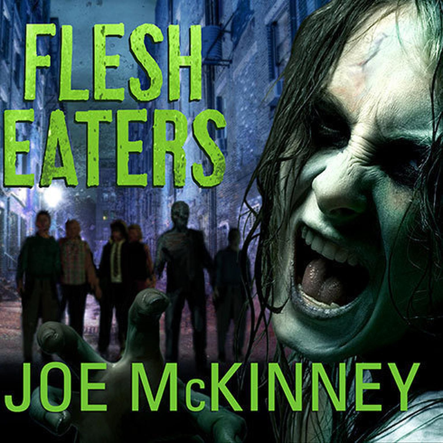 Printable Flesh Eaters Audiobook Cover Art