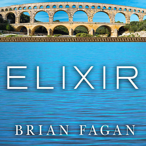 Printable Elixir: A History of Water and Humankind Audiobook Cover Art