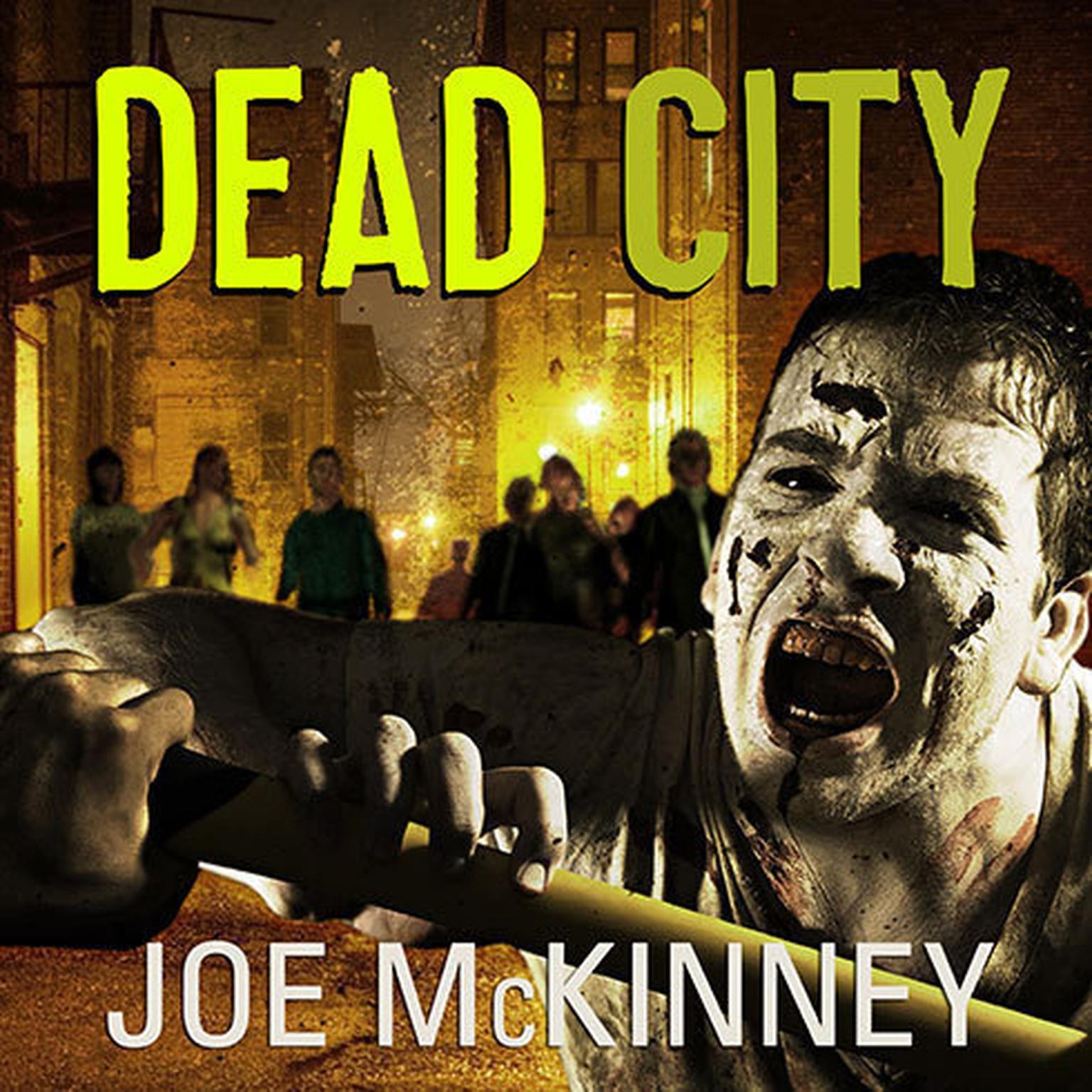 Printable Dead City Audiobook Cover Art