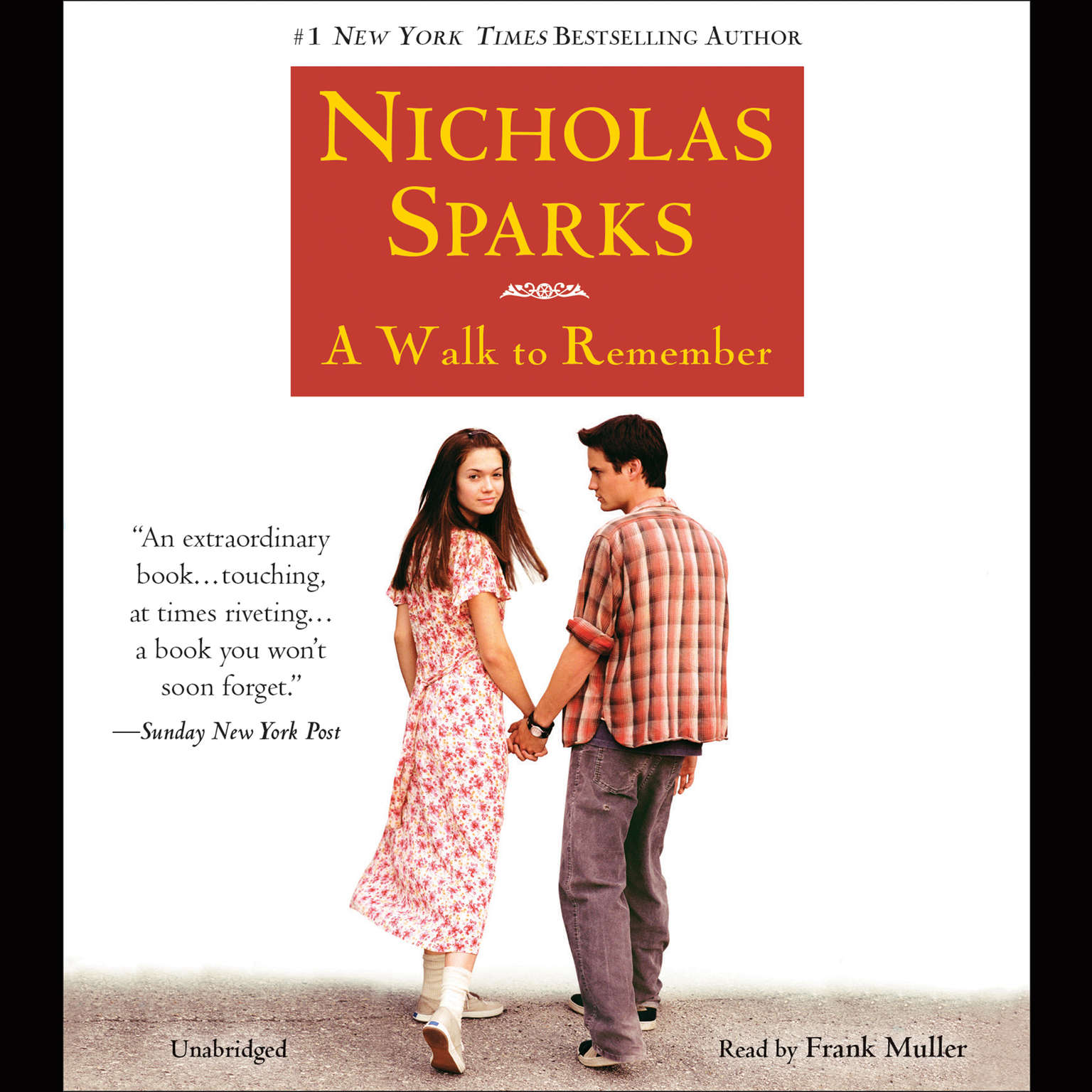 A Walk to Remember Audiobook, by Nicholas Sparks