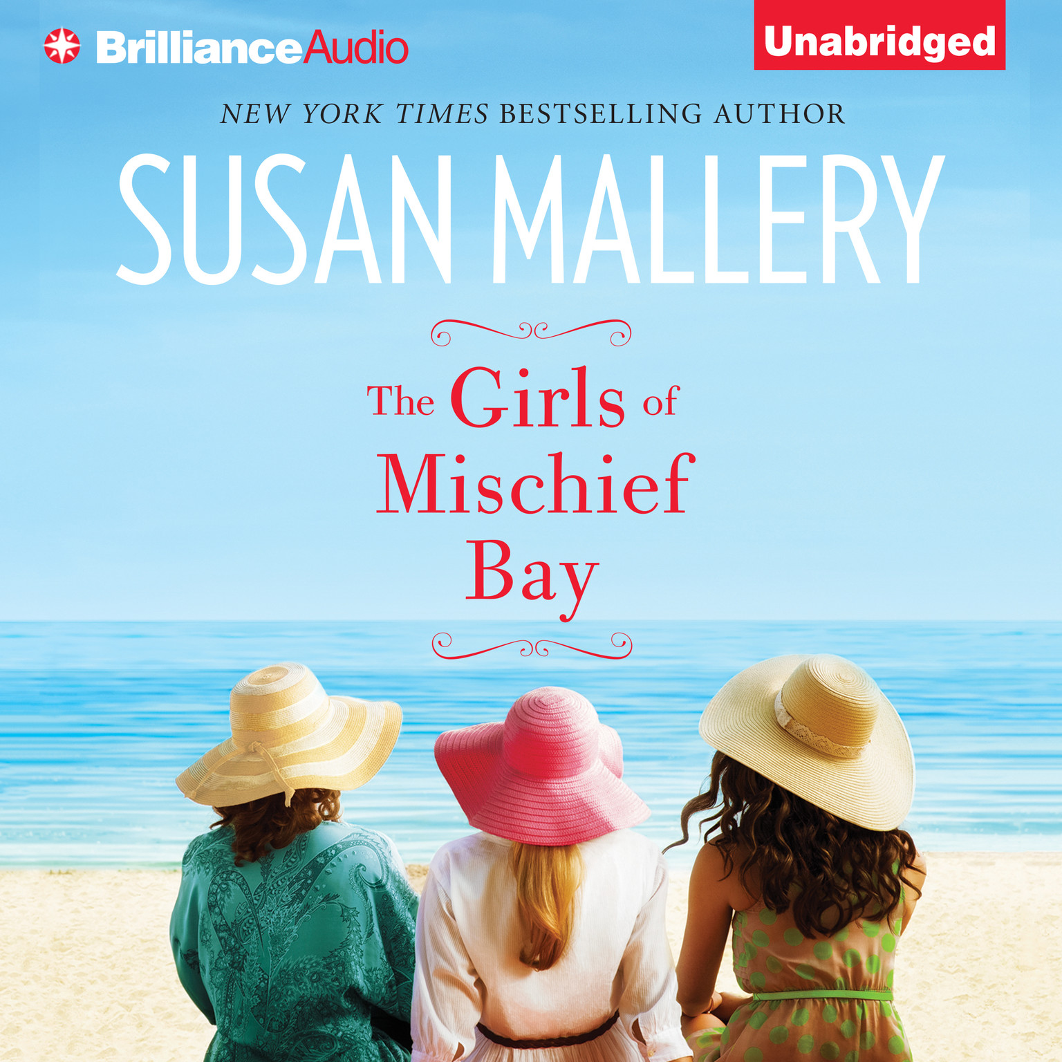 Printable The Girls of Mischief Bay Audiobook Cover Art