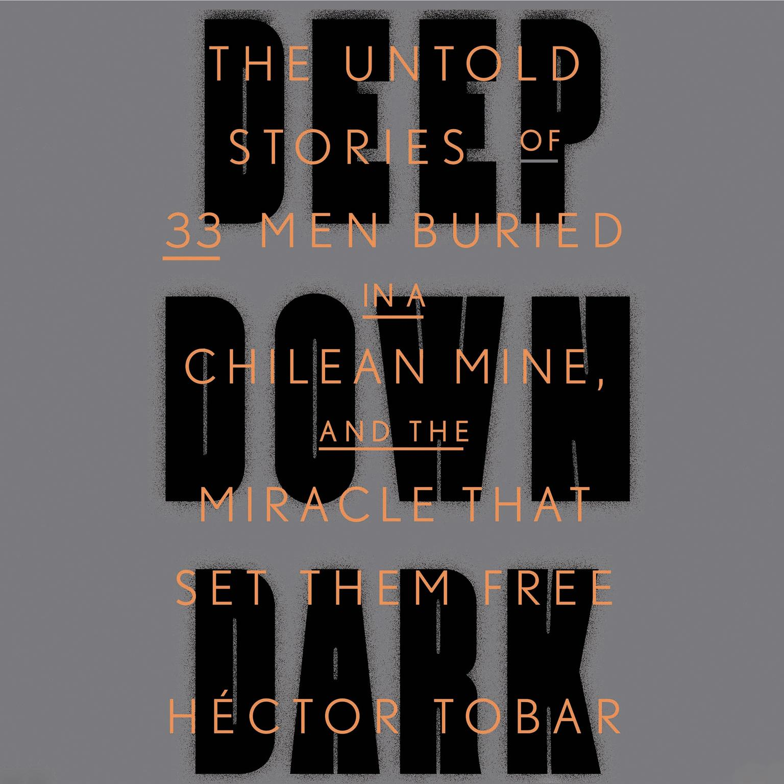 Printable Deep Down Dark: The Untold Stories of 33 Men Buried in a Chilean Mine, and the Miracle That Set Them Free Audiobook Cover Art