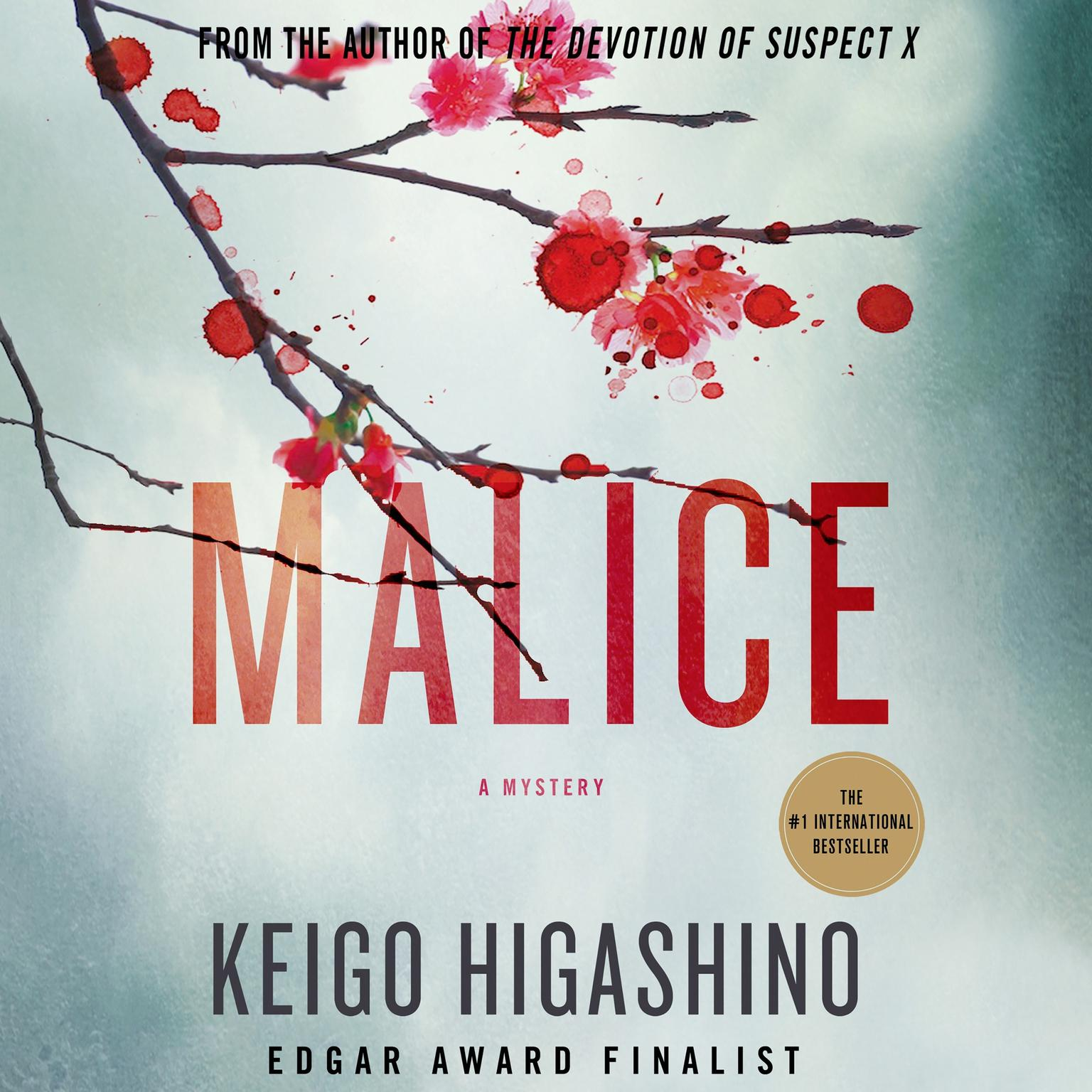 Printable Malice: A Mystery Audiobook Cover Art