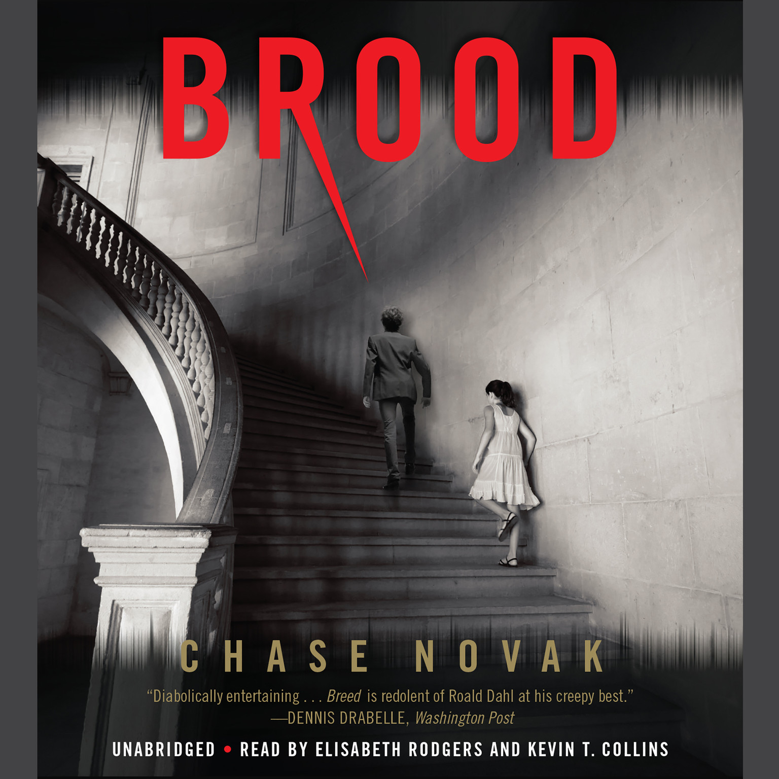Printable Brood Audiobook Cover Art