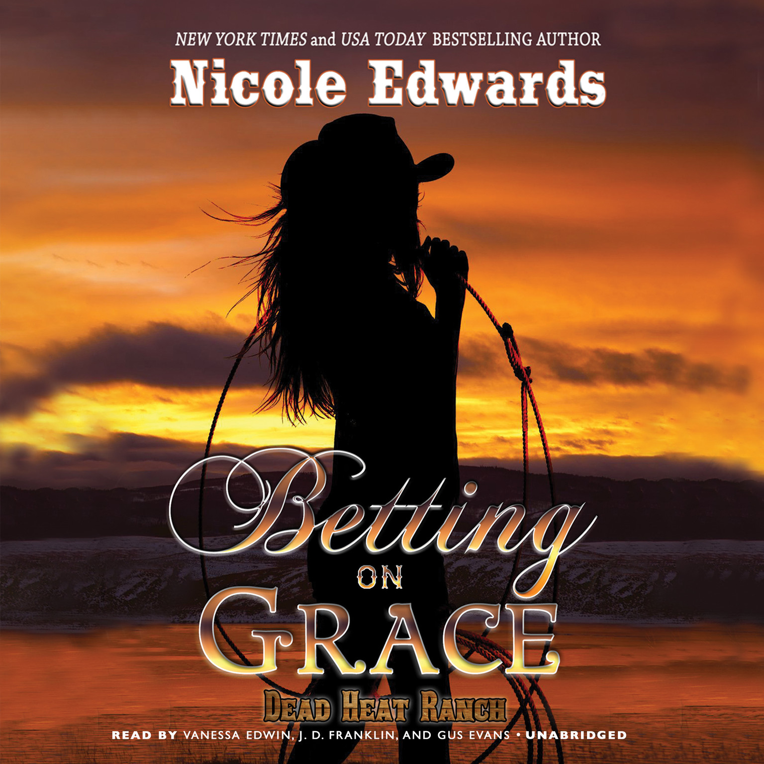 Printable Betting on Grace: A Dead Heat Ranch Novel, Book 1 Audiobook Cover Art