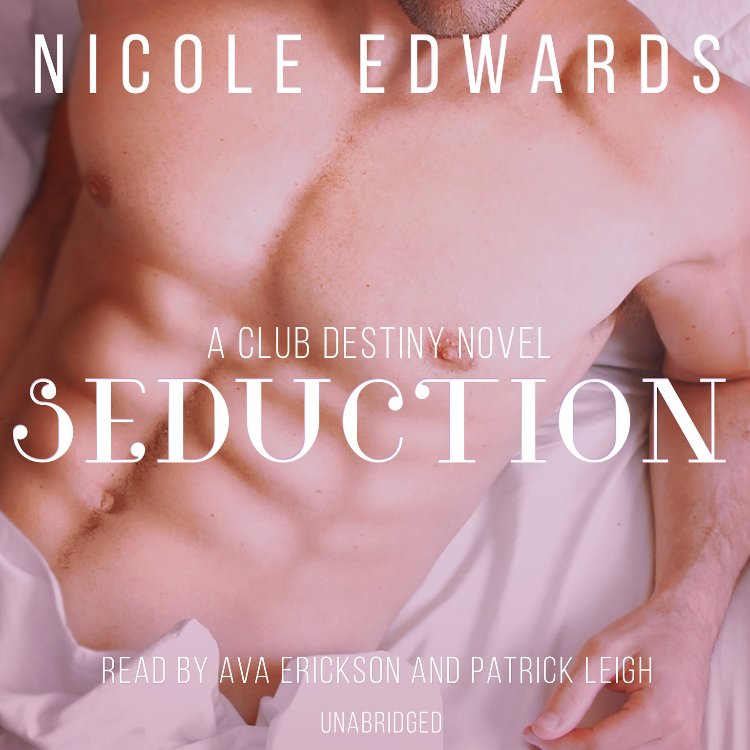 Printable Seduction: A Club Destiny Novel, Book 3 Audiobook Cover Art