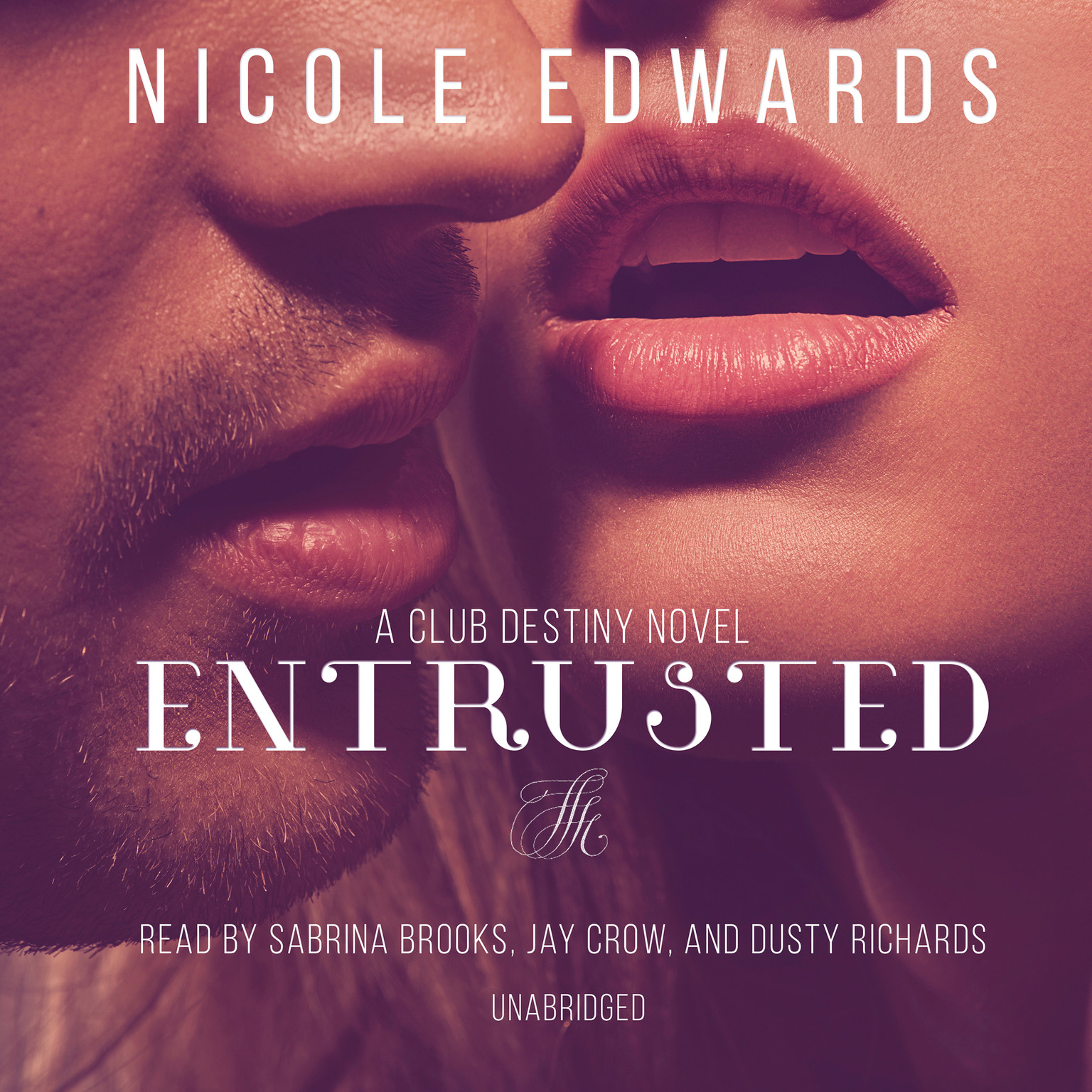 Printable Entrusted: A Club Destiny Novel, Book 7 Audiobook Cover Art