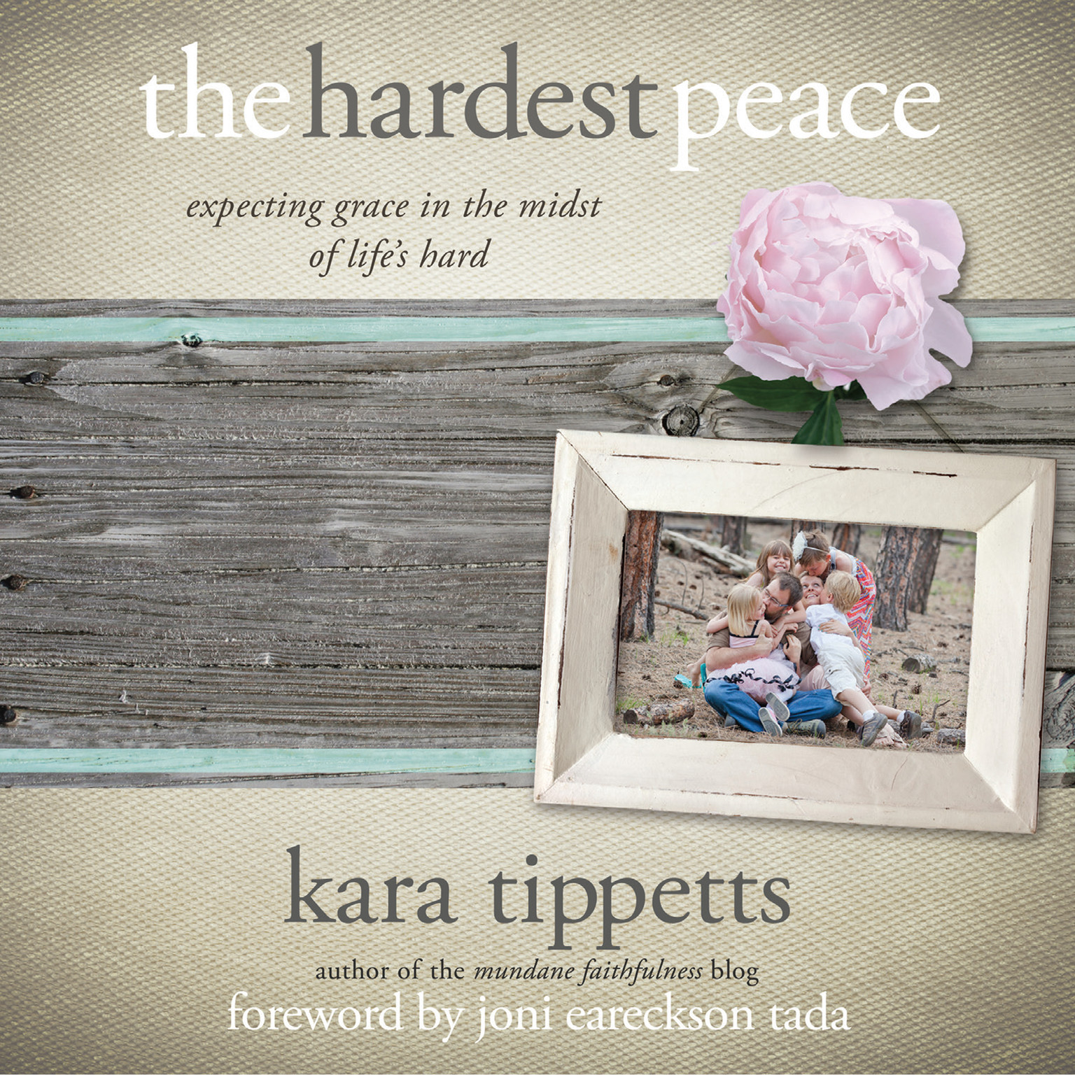 Printable The Hardest Peace: Expecting Grace in the Midst of Life's Hard Audiobook Cover Art