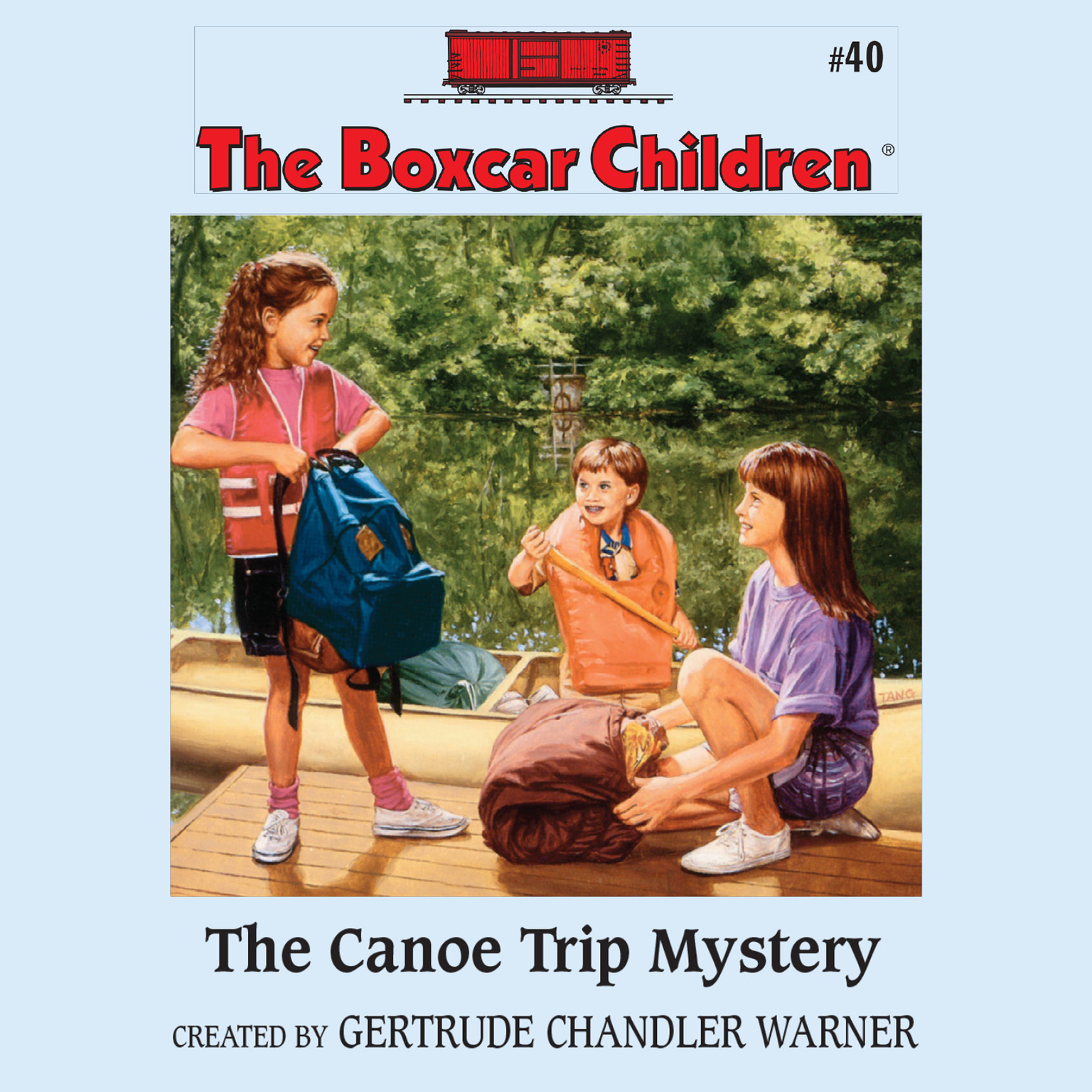 Printable The Canoe Trip Mystery Audiobook Cover Art