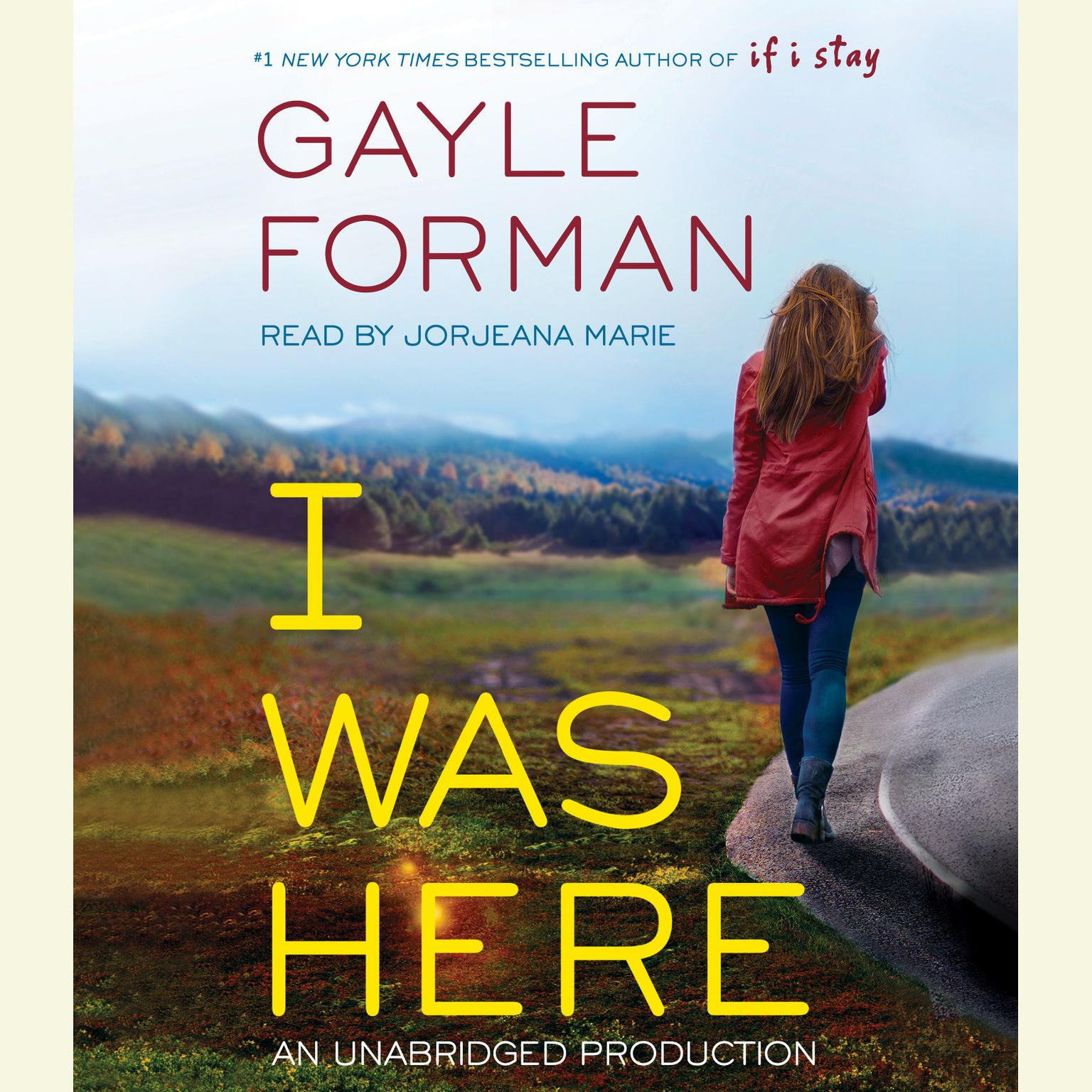 Printable I Was Here Audiobook Cover Art