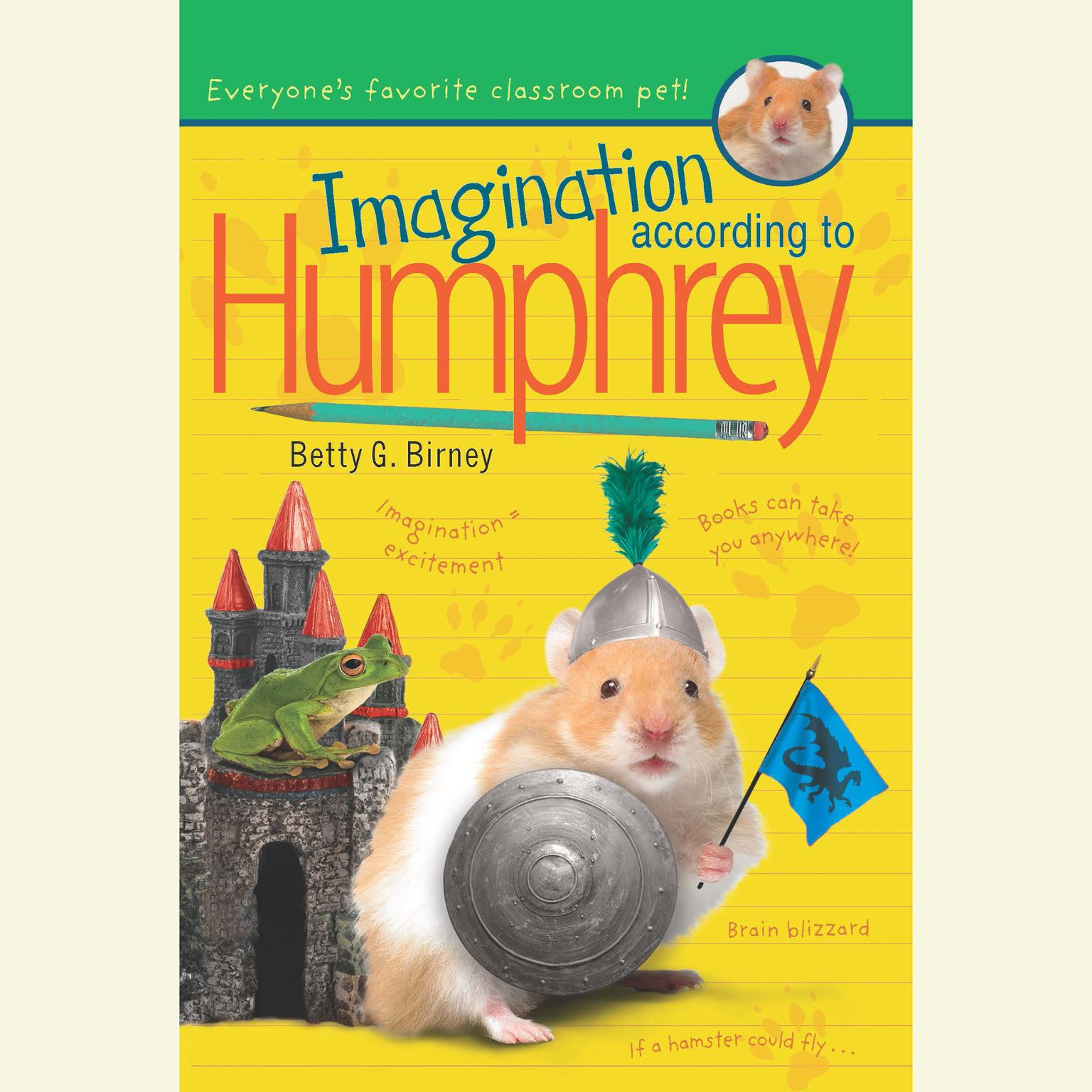 Printable Imagination According to Humphrey Audiobook Cover Art