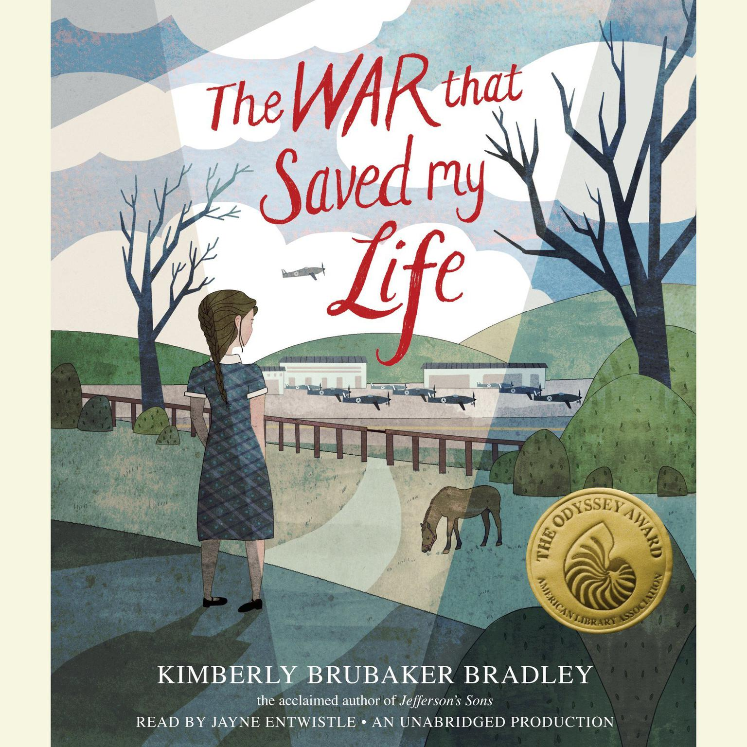 Printable The War That Saved My Life Audiobook Cover Art