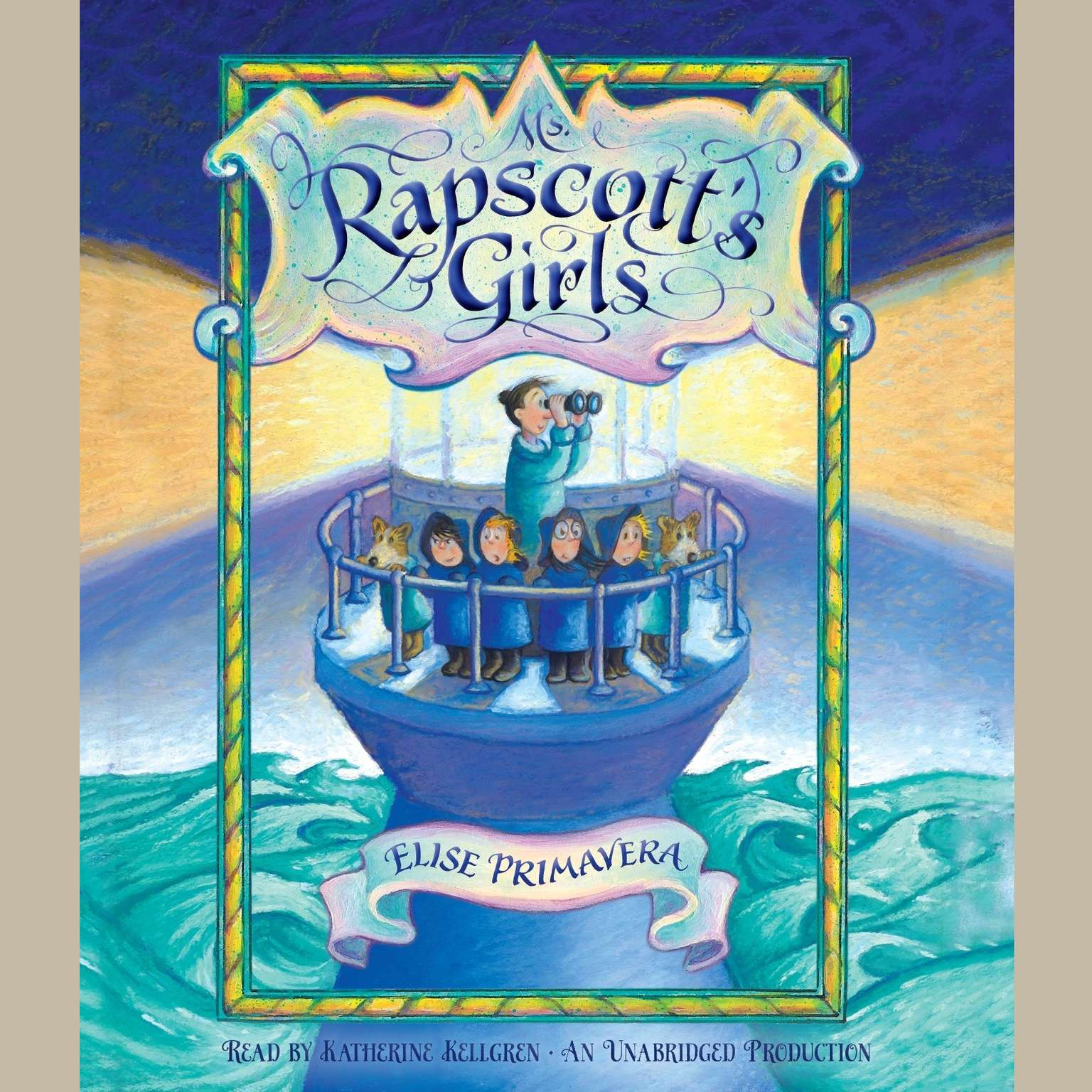 Printable Ms. Rapscott's Girls Audiobook Cover Art