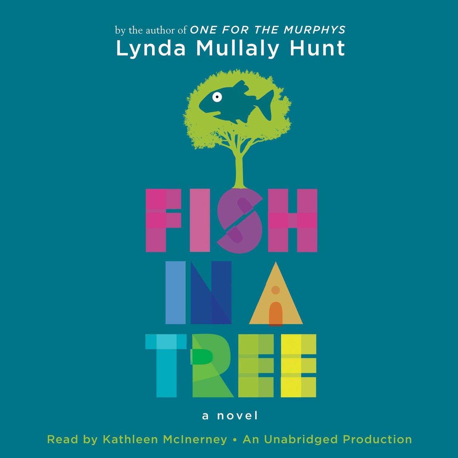 Printable Fish in a Tree Audiobook Cover Art
