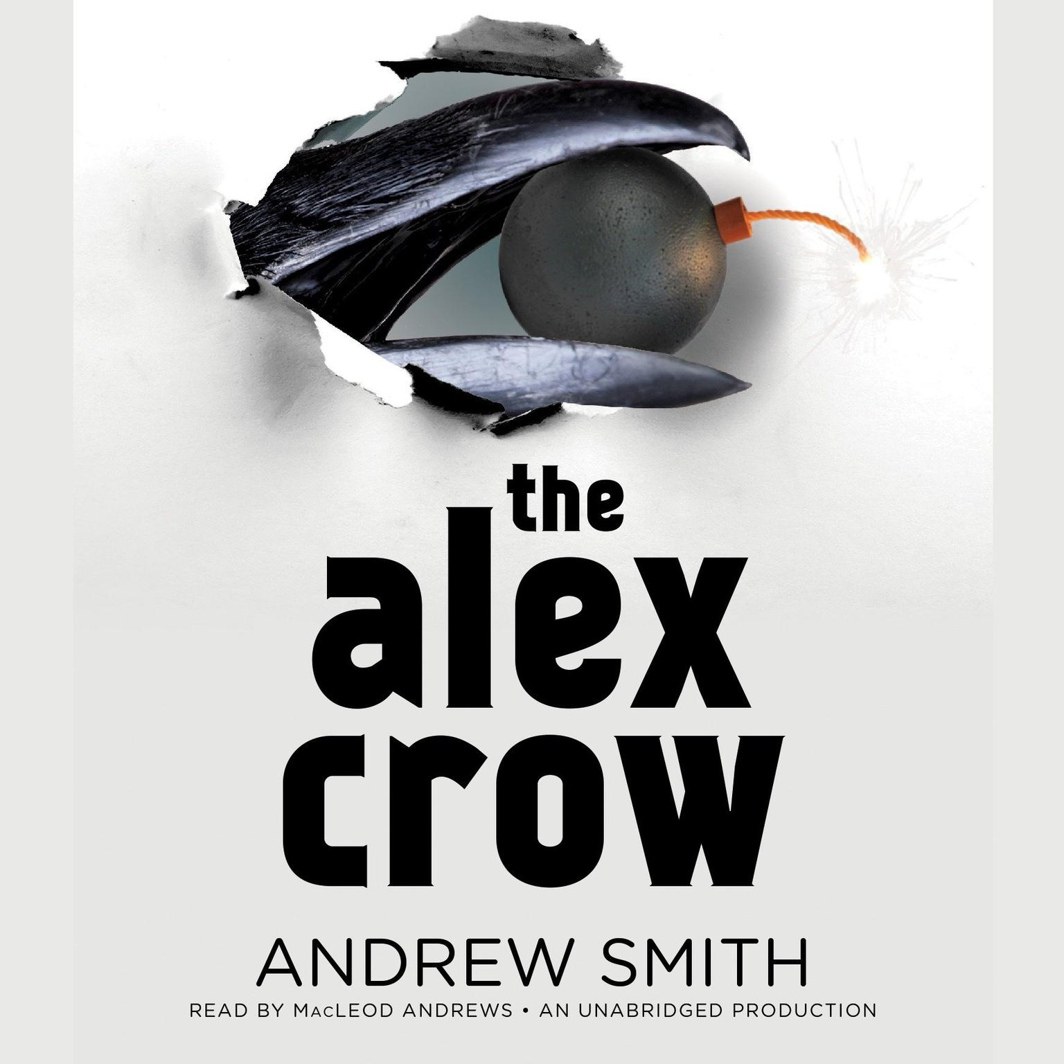 Printable The Alex Crow Audiobook Cover Art