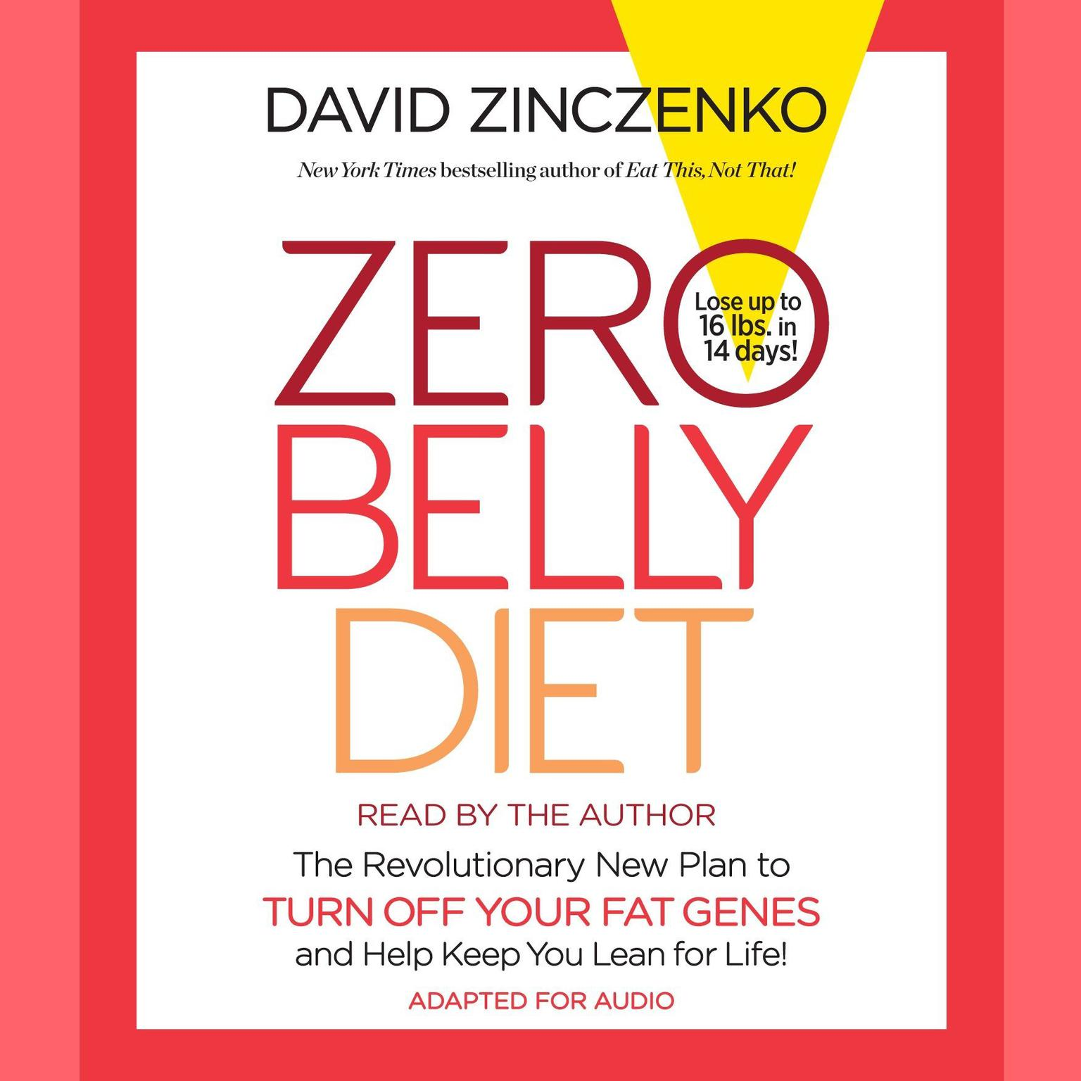 Printable Zero Belly Diet: Lose Up to 16 lbs. in 14 Days! Audiobook Cover Art