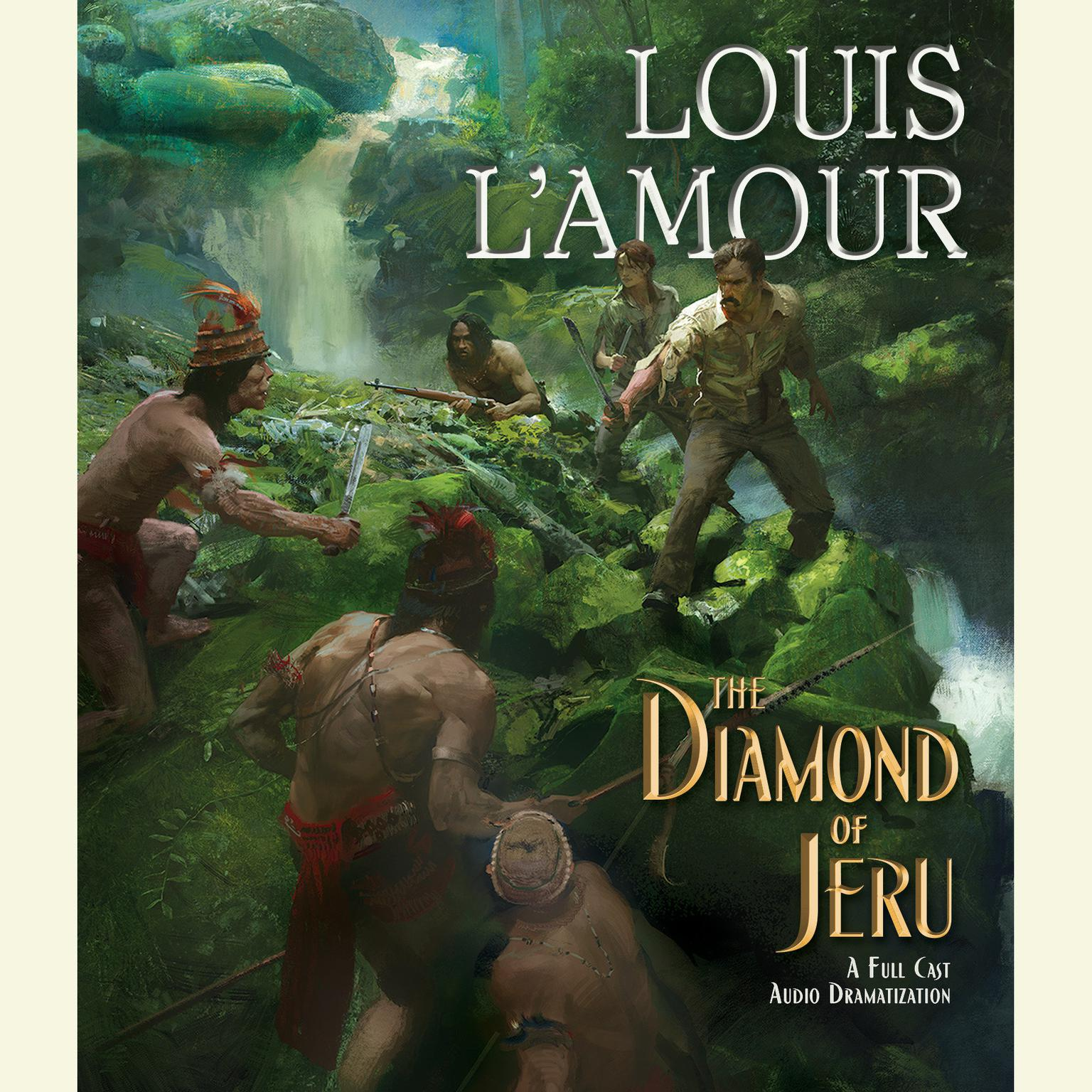 Printable Diamond of Jeru Audiobook Cover Art